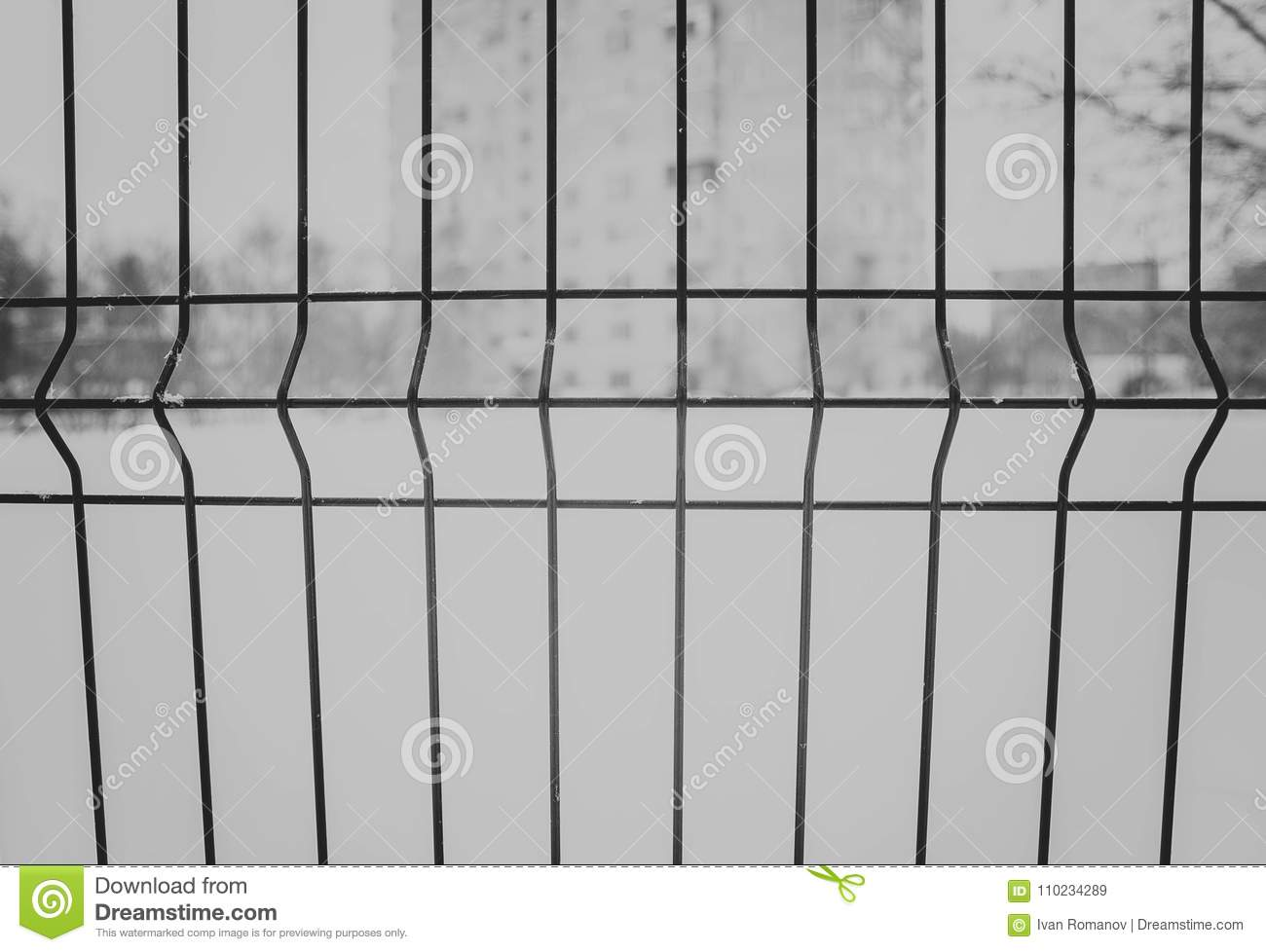 Welded Wire Mesh Black And White Stock Image - Image of lattice ...