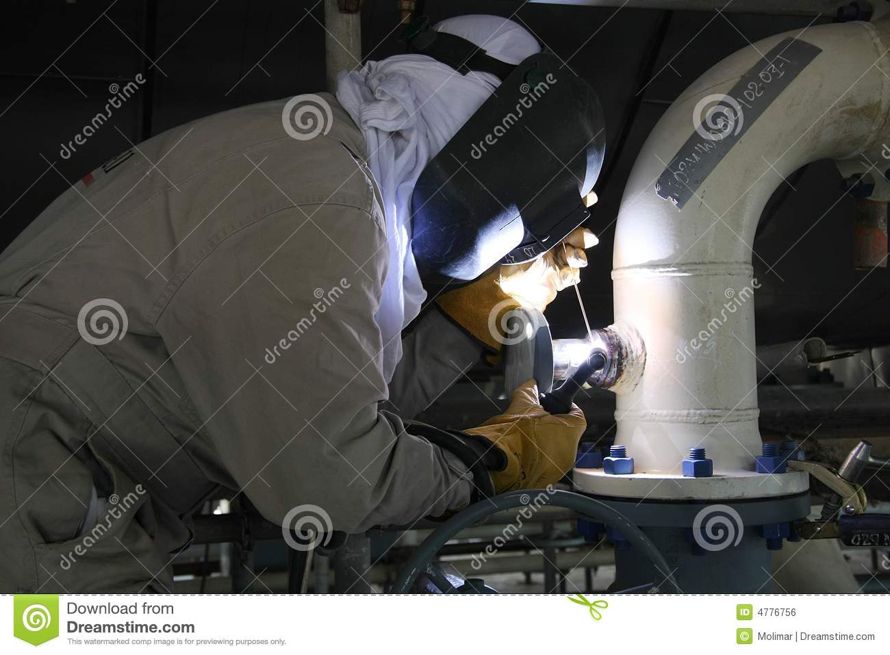 Welder Royalty Free Stock Image Image 4776756