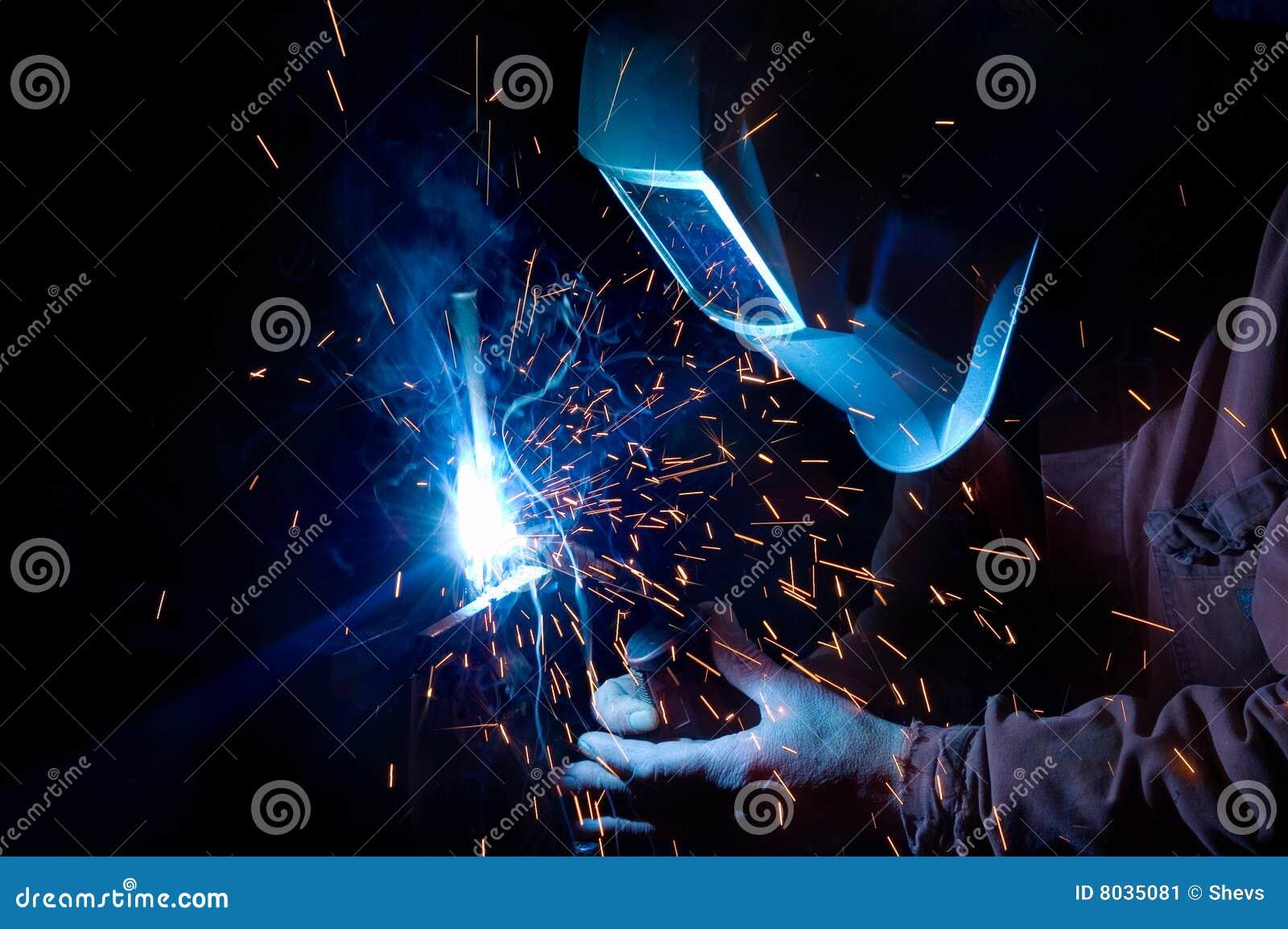 Welder At Work Stock Image Image Of Skill Metal