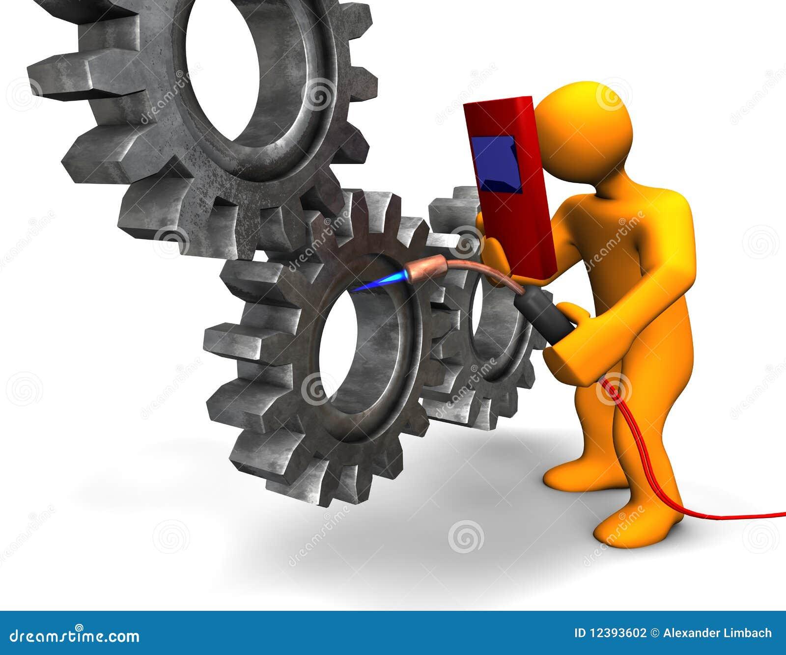 Solder Stock Illustrations 402 Vectors Kaos Welder Welding 3dimensi 3d Illustration Looks A Humanoid Person At Vector