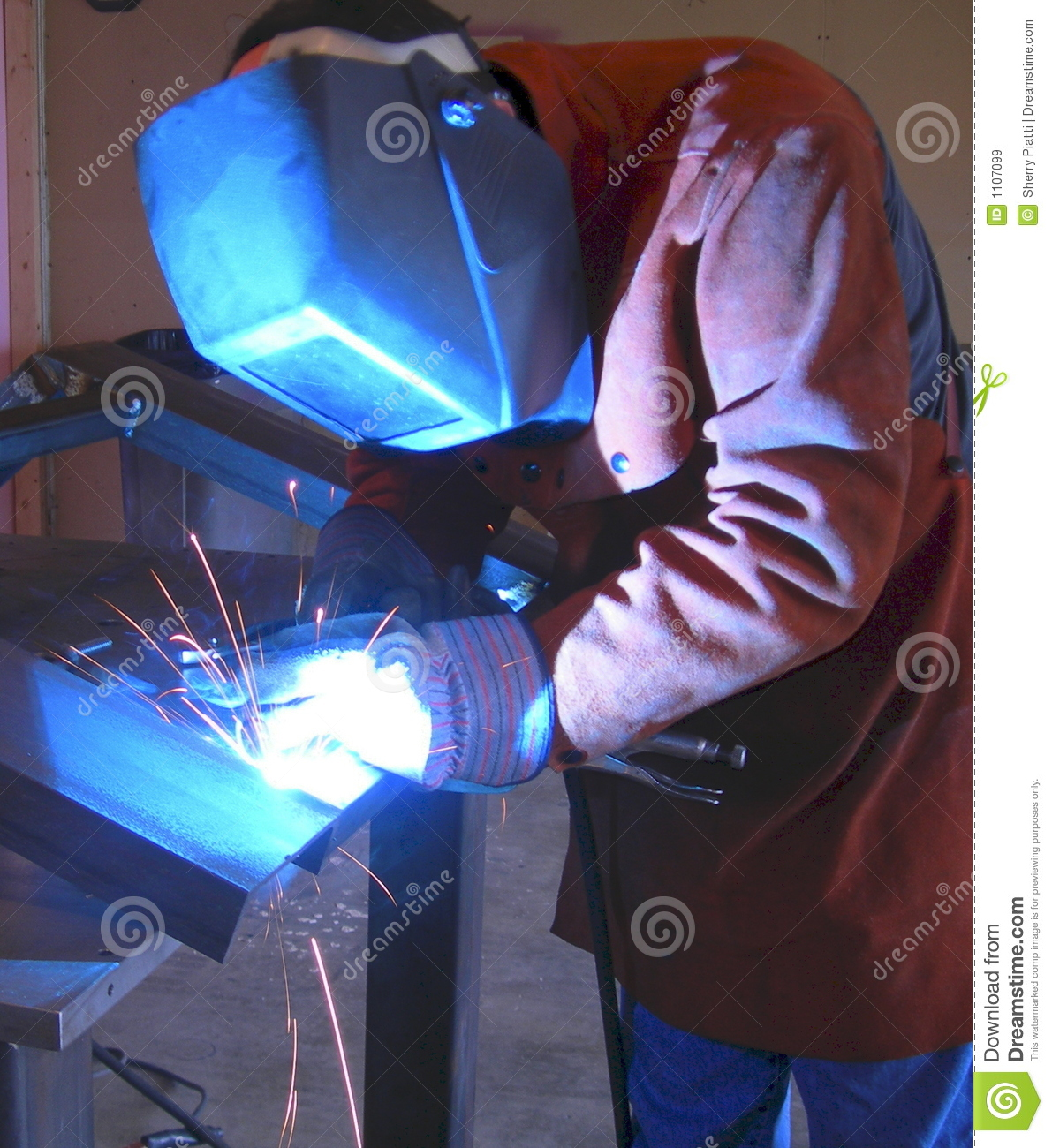 Welding Fabrication Royalty Free Stock Images Image 1107099