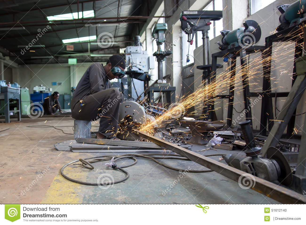Welding Fabrication Editorial Image Image Of Manufacturing 51612140