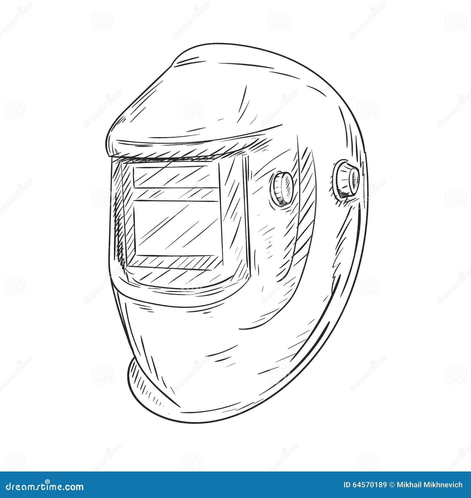 Welding Helmet Sketch Stock Illustrations – 24 Welding Helmet Sketch Stock  Illustrations, Vectors & Clipart - DreamstimeDreamstime.com