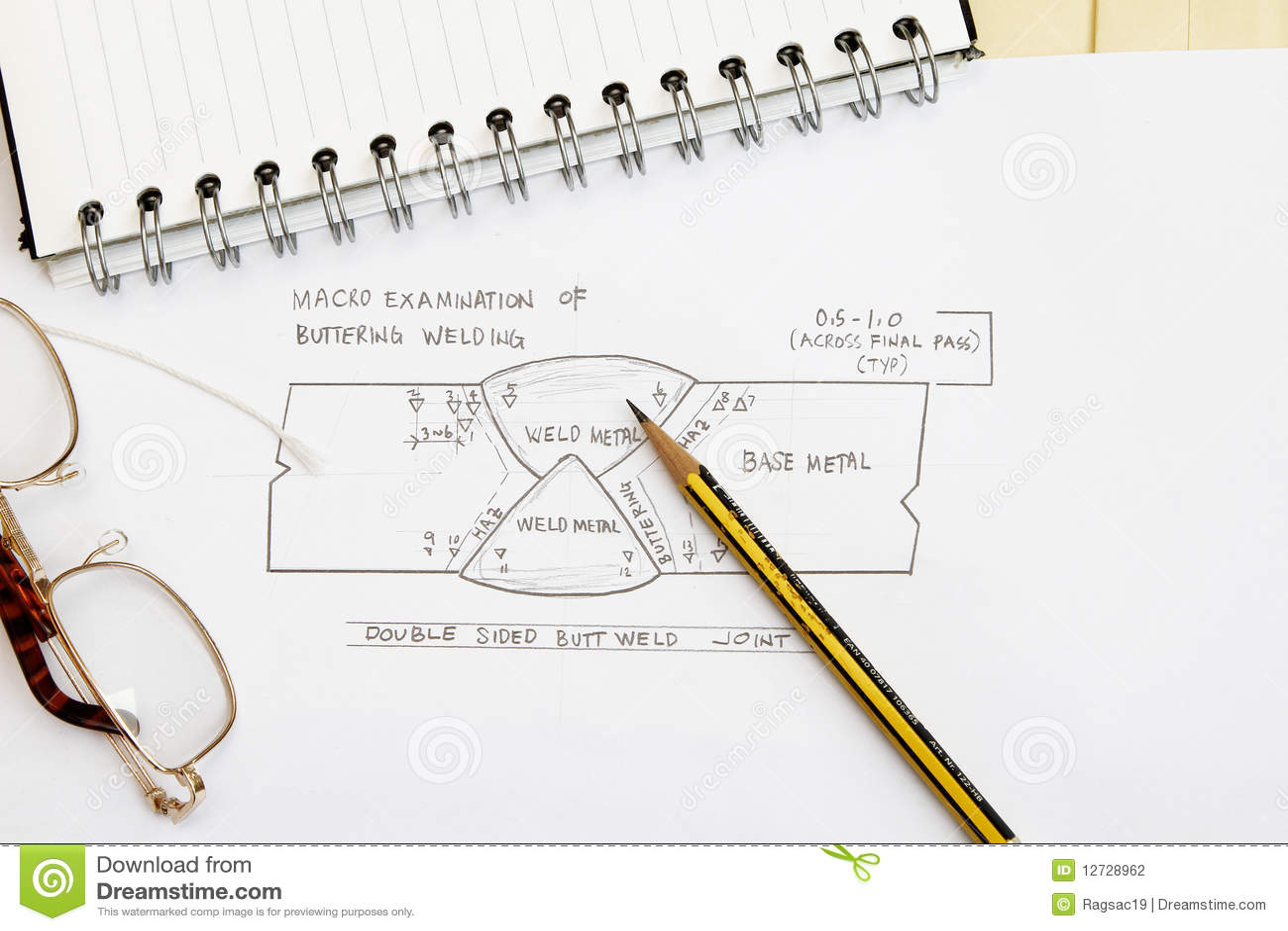 Welding Sketch Stock Photo Image Of Symbol 12728962 Gas Diagram