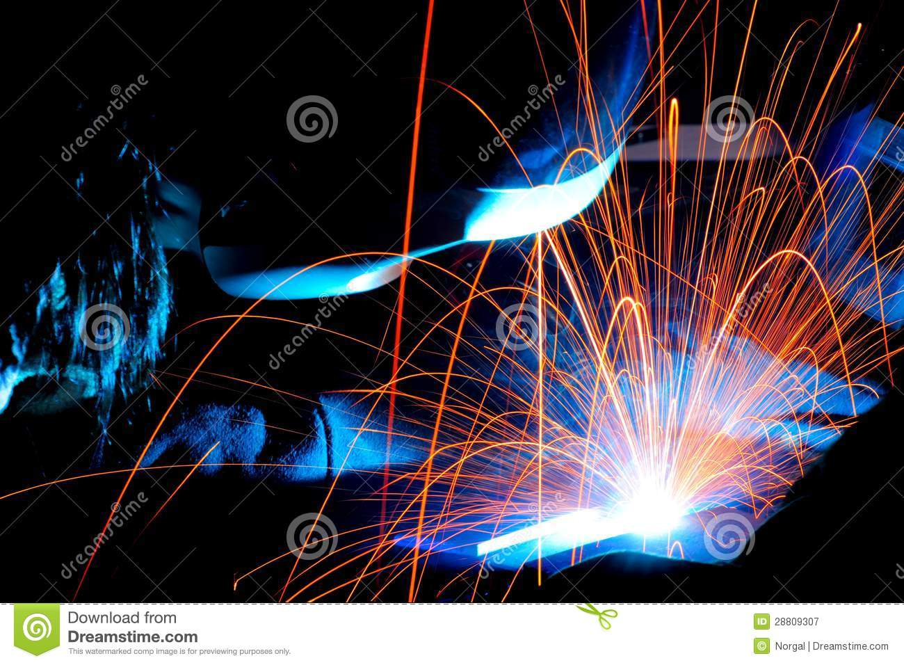 Welding sparks stock image image of torch welding power - Webaccess leroymerlin fr ...
