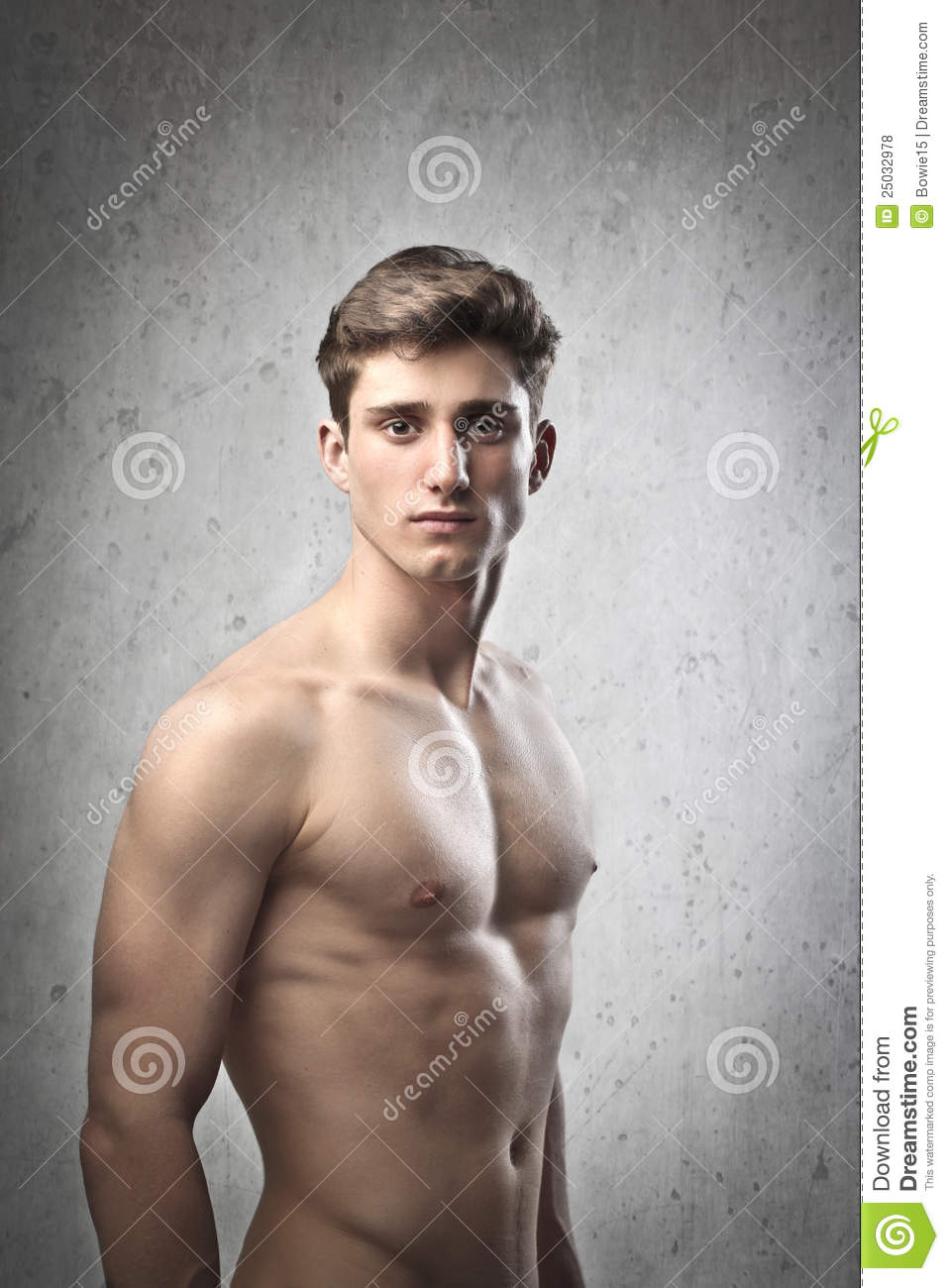 Well-built Man Royalty Free Stock Photos - Image: 25032978