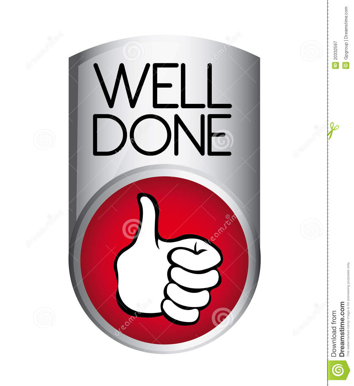 Well Done Butto... Clipart Stressed