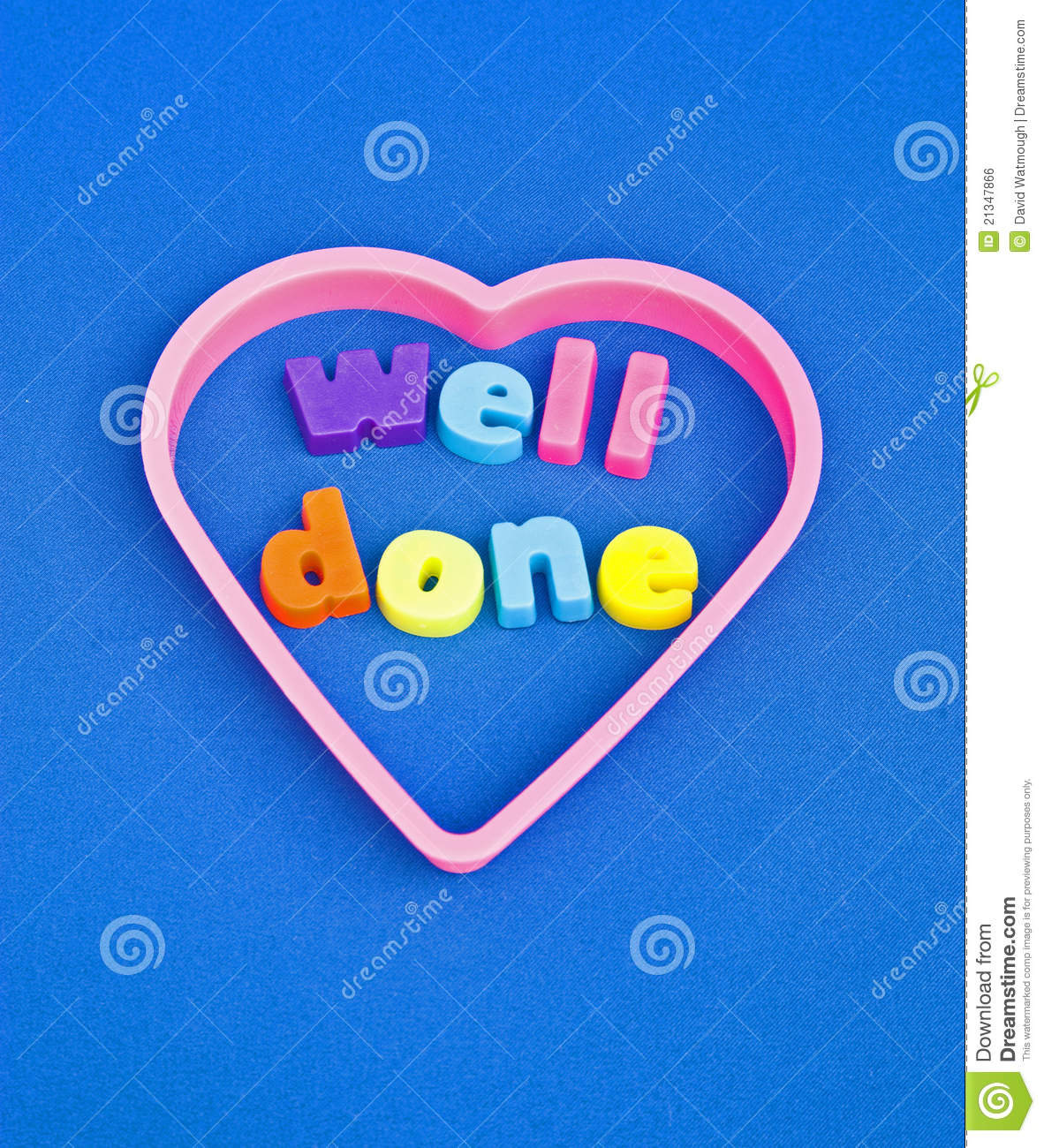 well done   congratulations  stock photo