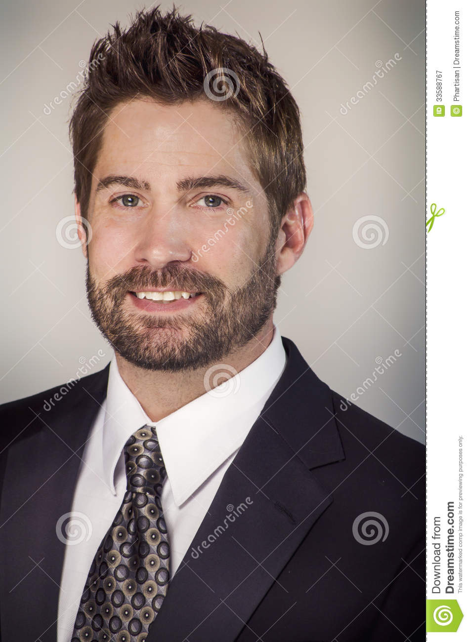 well groomed handsome man stock image  image of