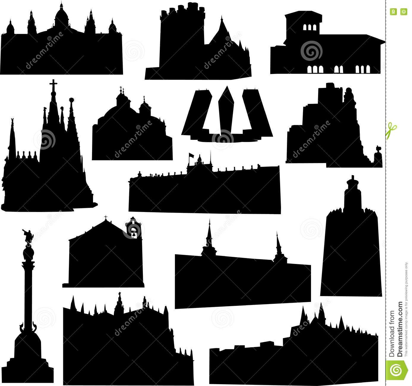 Well Known Architects - well known spain architecture stock photos image  13597983