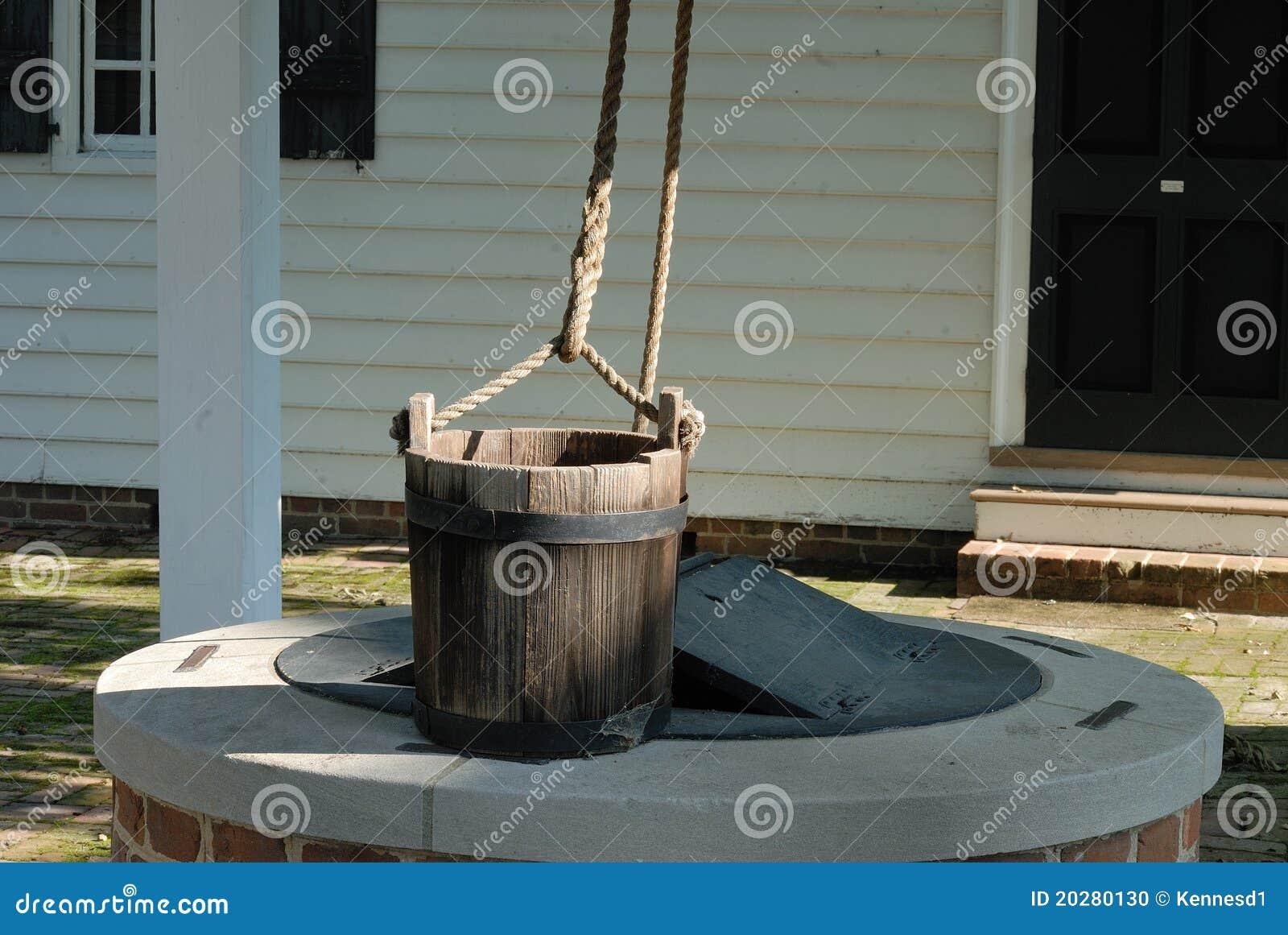 Well water bucket