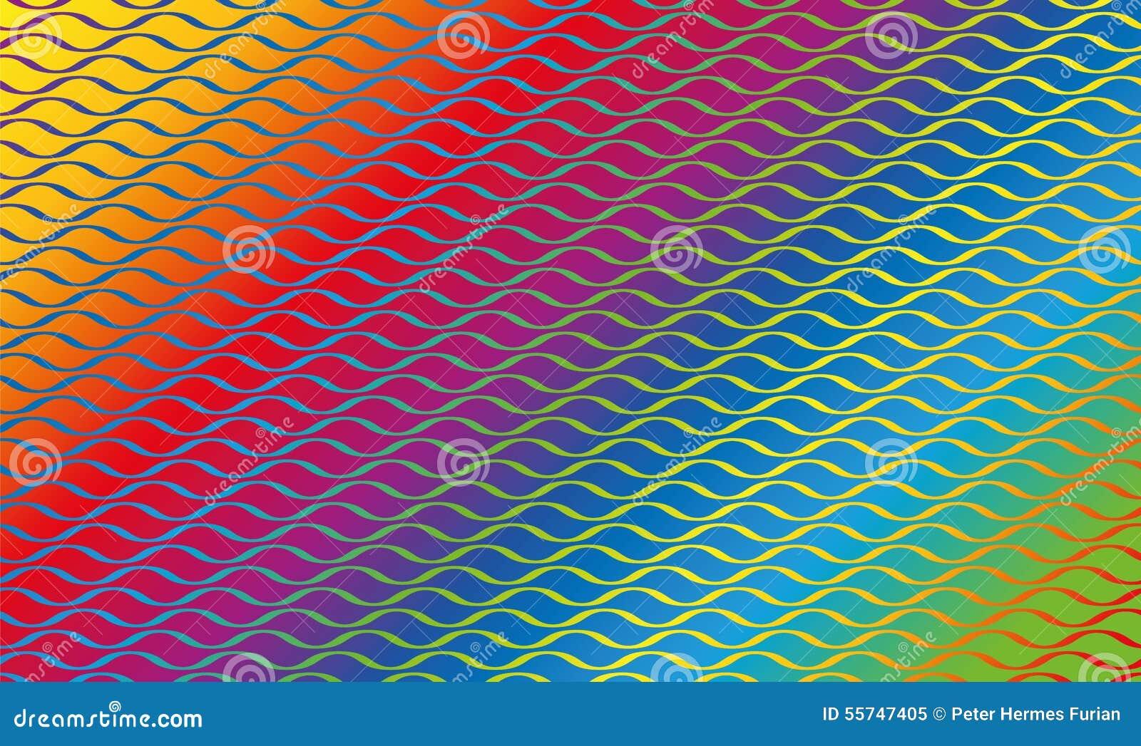 regenbogen muster bunte linien - photo #31