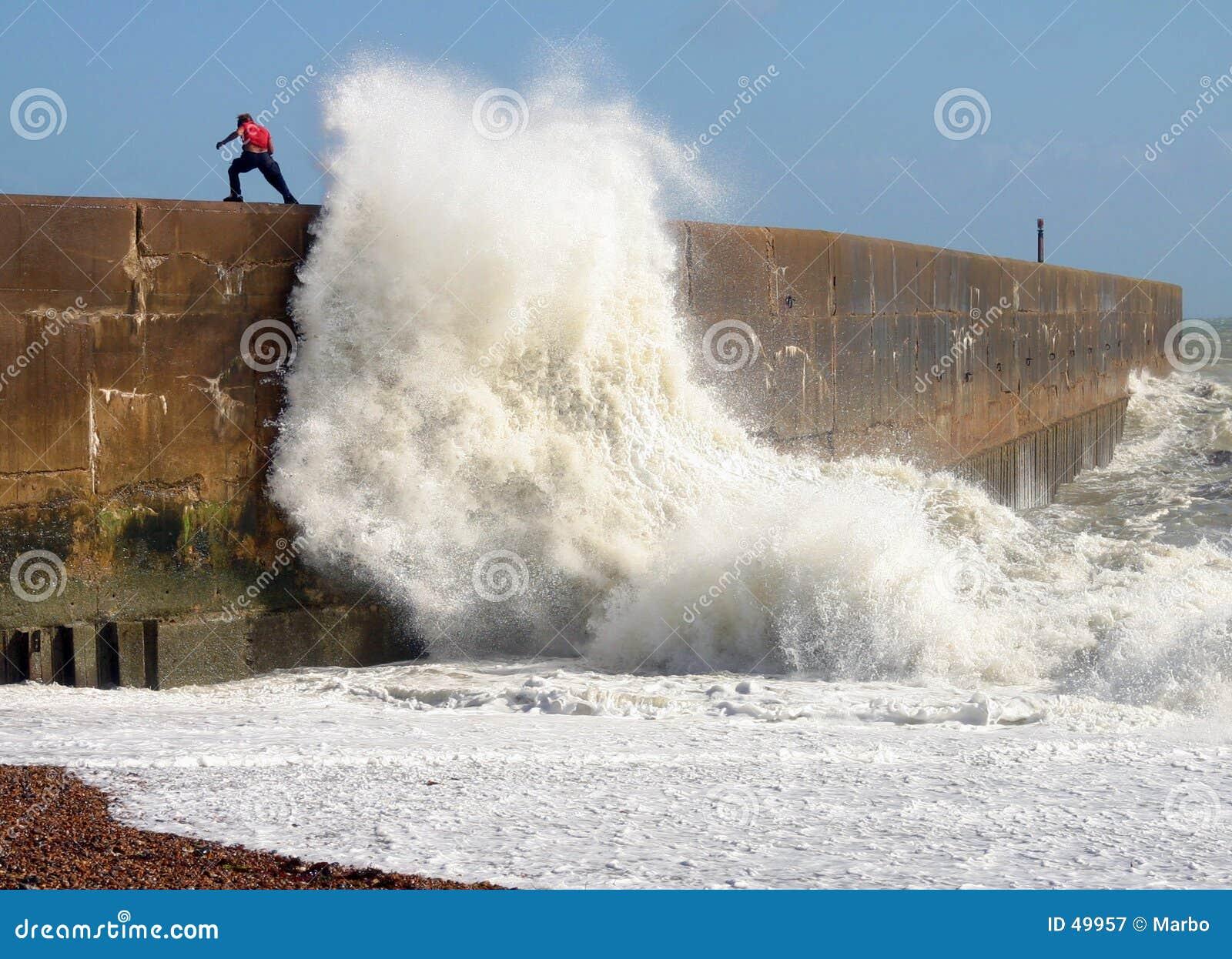 Wellenbrechen