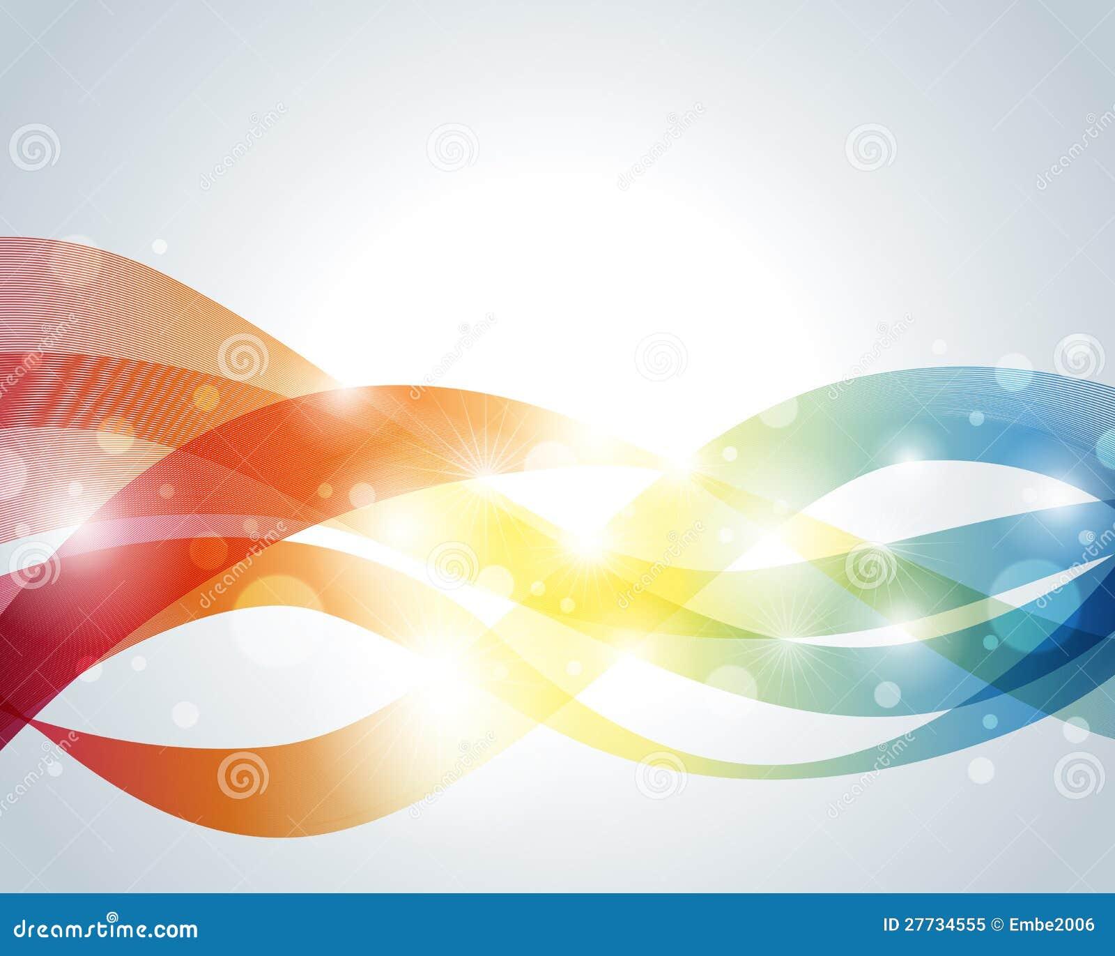 Wellenförmiger abstrakter Hintergrund