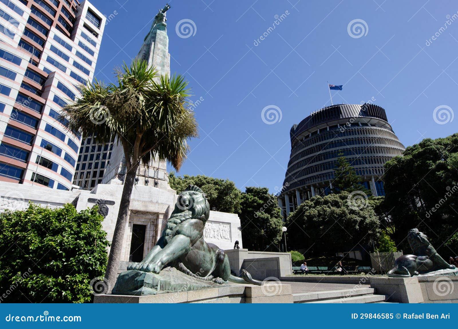 O parlamento de Nova Zelândia