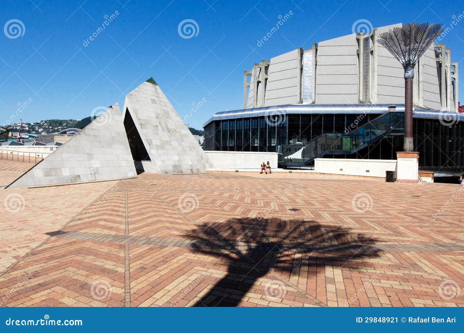 O quadrado cívico de Wellington