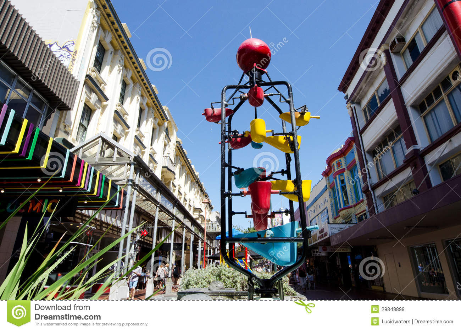 Paysage urbain de Wellington