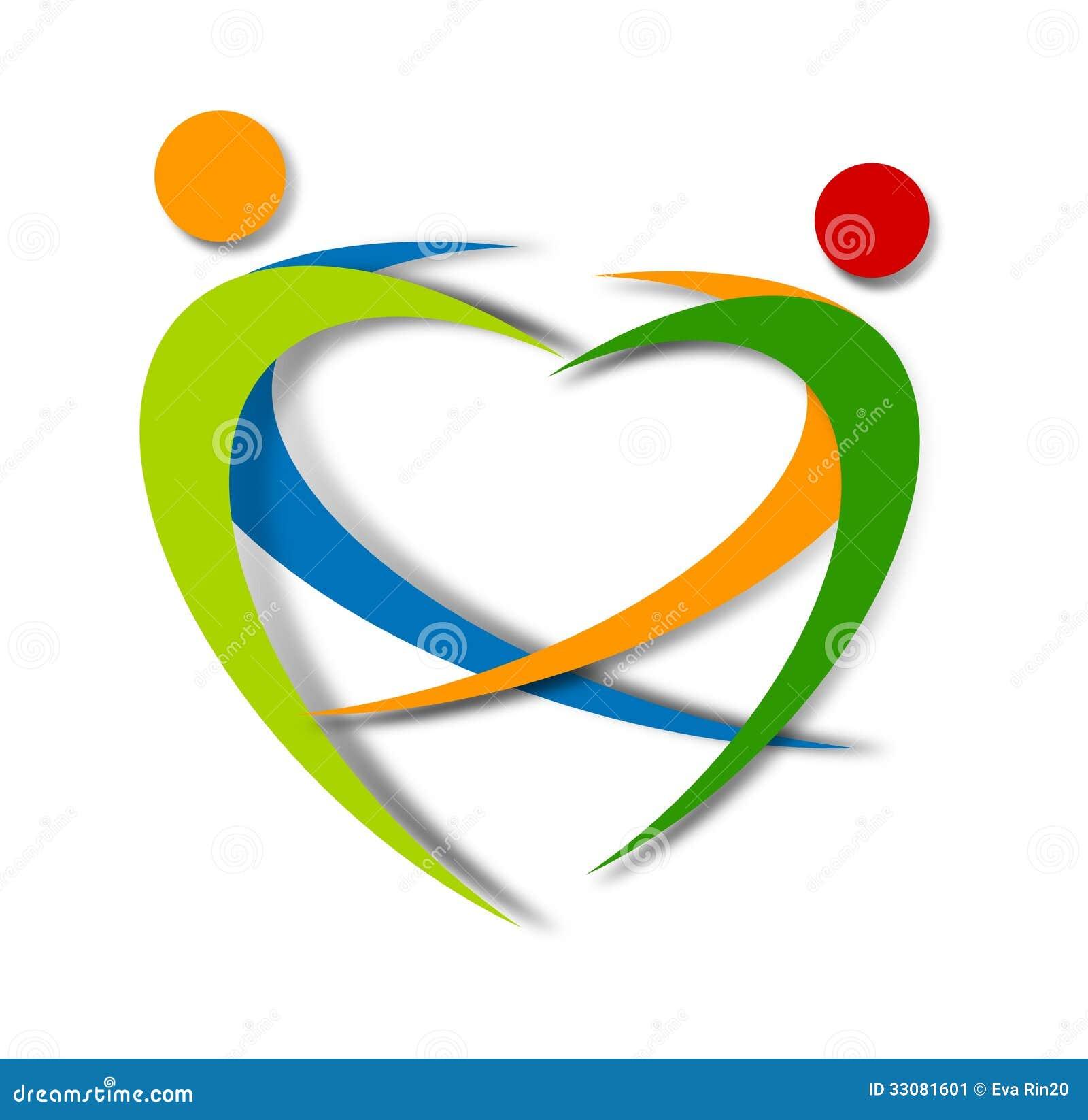 Wellness Abstract Logo Design Stock Image - Image: 33081601