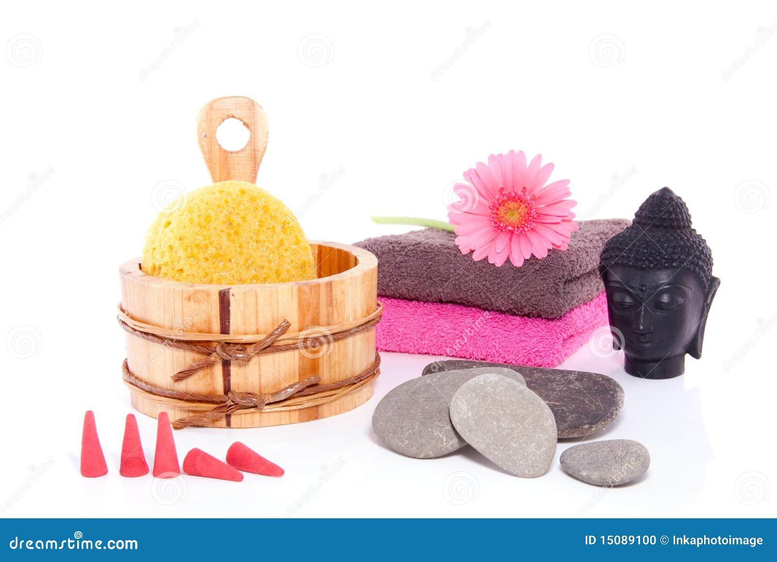 Wellness Decoration With Budha Stock Photo Image 15089100