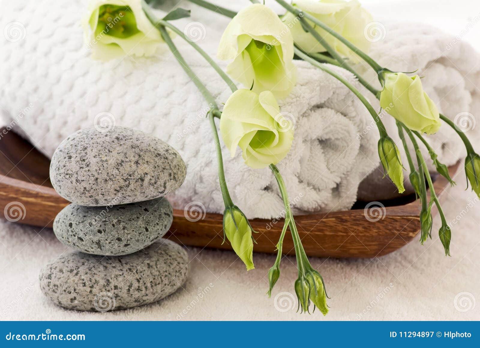 Wellness Dekoration Lizenzfreie Stockfotografie Bild
