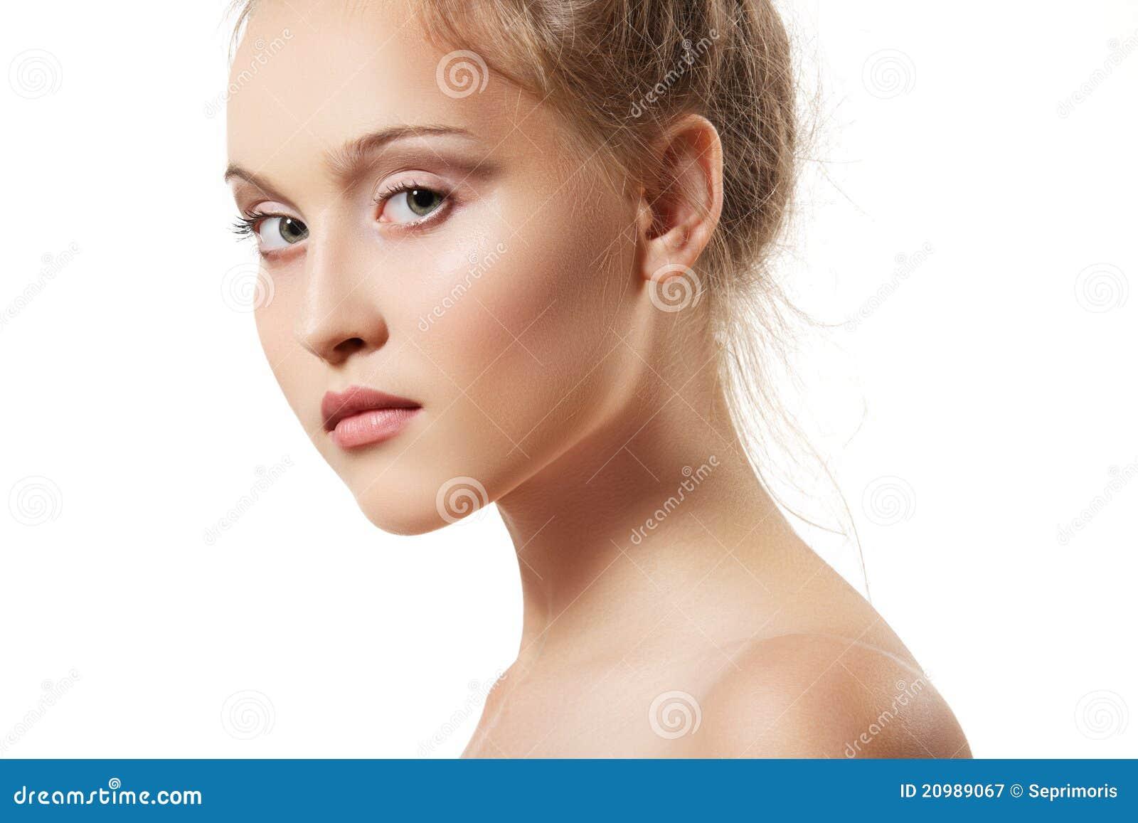 Teen girl model images for Skins beauty salon