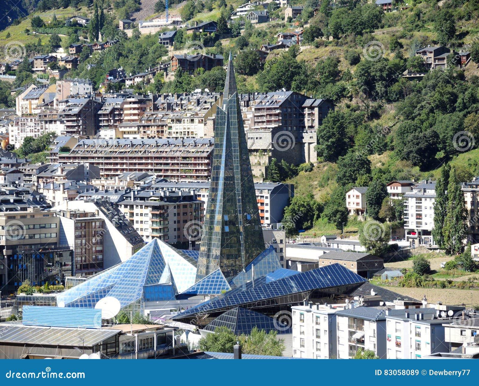 Wellness Spa Center Caldea Andorra Stock Image Image Of Michel