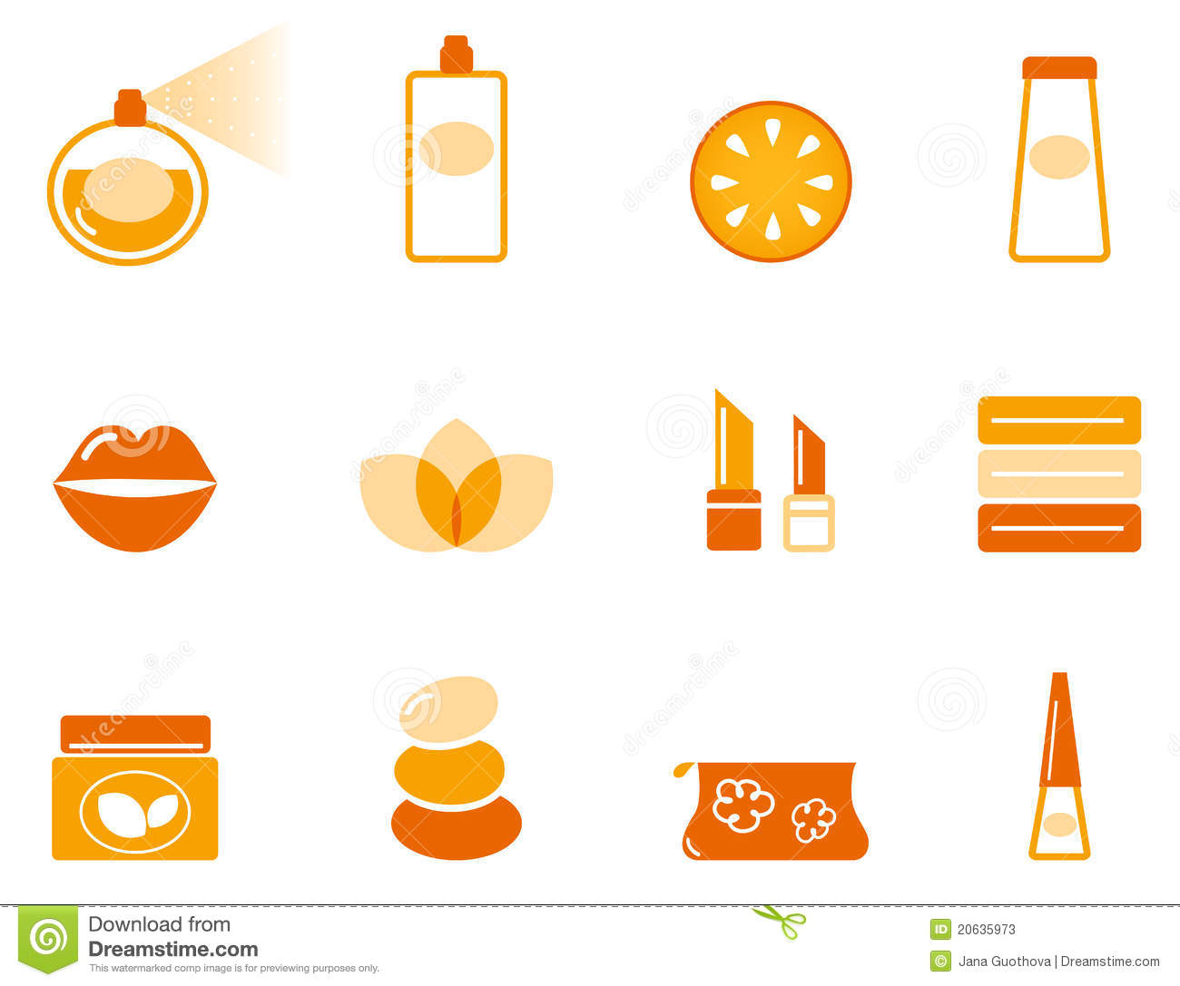 Wellness icon  Luxury Cosmetics And Wellness Icon Set Royalty Free Stock Images ...