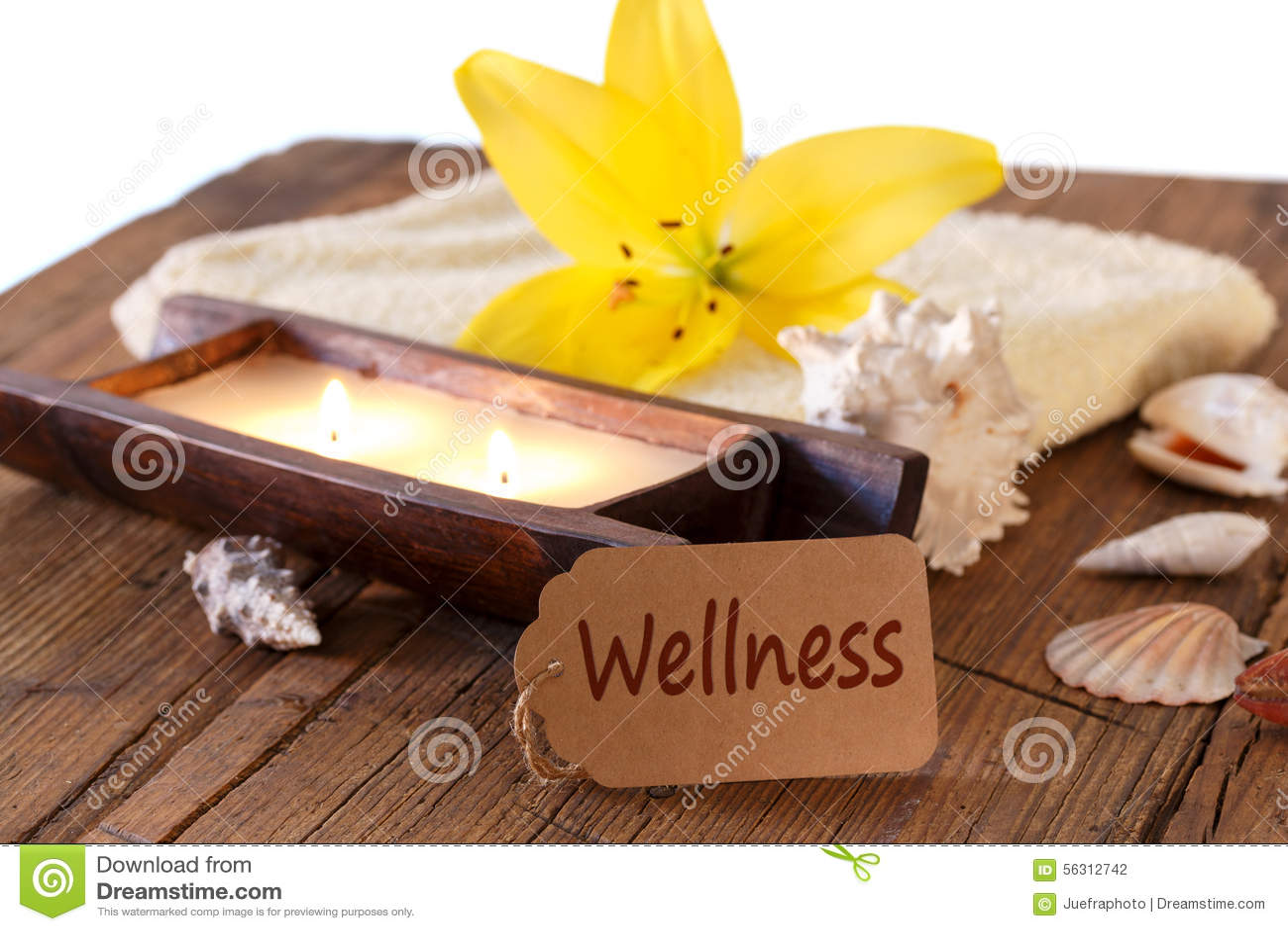 Wellness Voucher Stock Photo Image Of Decorations