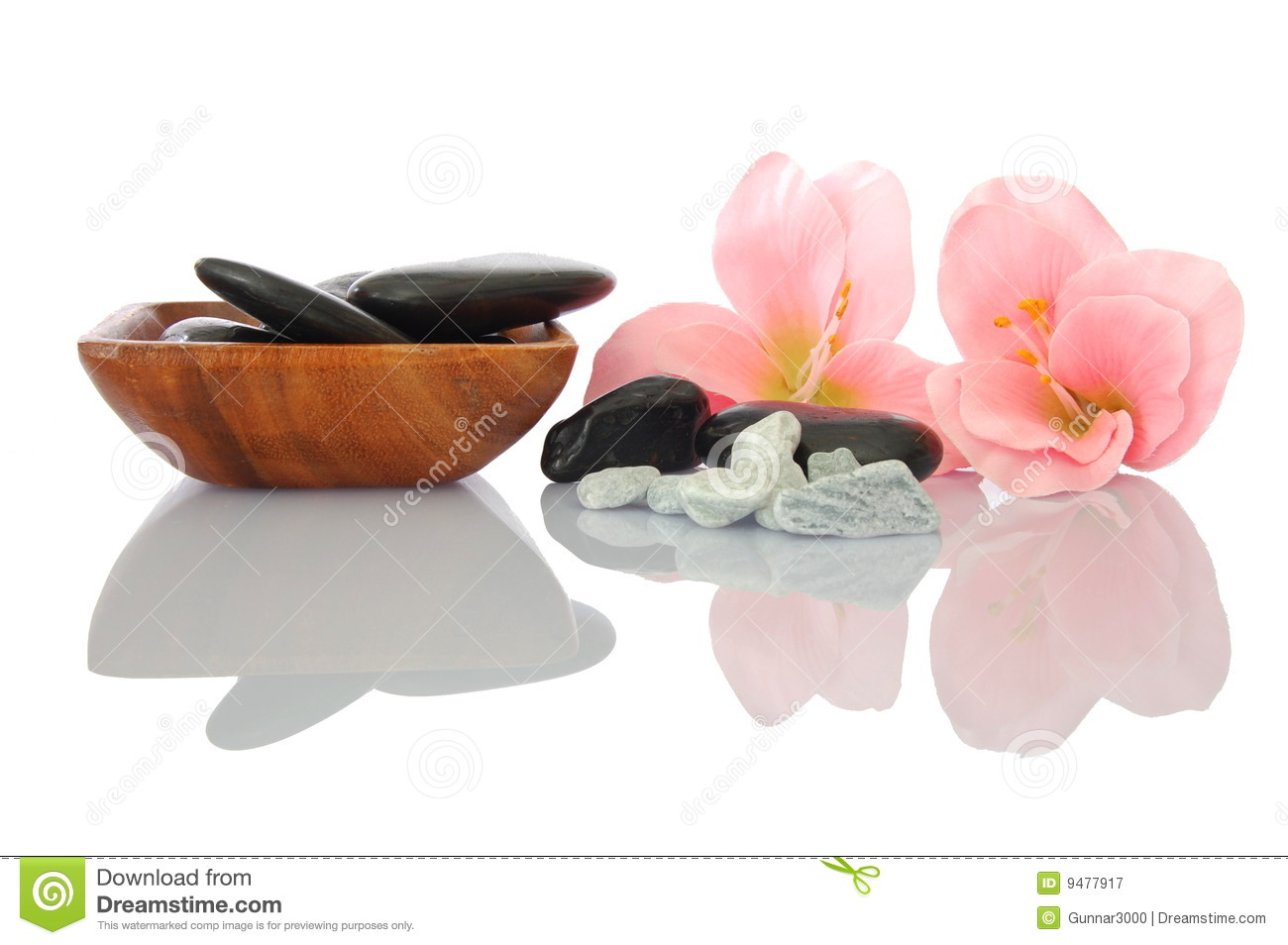 Wellness zen and spa stock image image of reflection for Salon zen