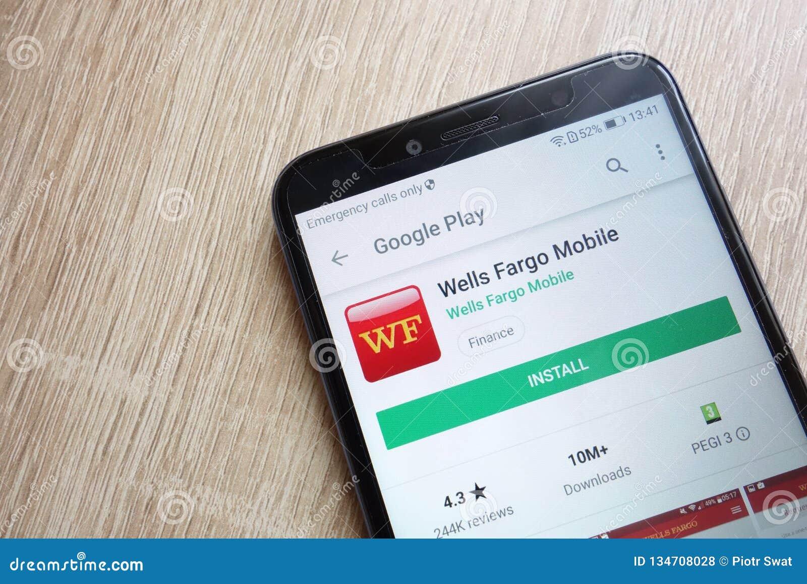 Wells Fargo Mobile App On Google Play Store Website