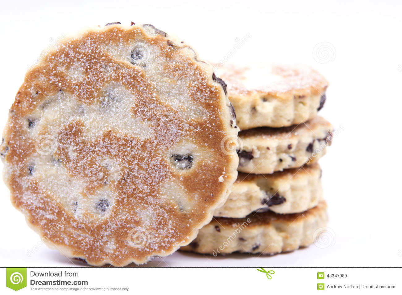 Clipart Welsh Cake : Welsh cakes stock image. Image of nutrition, dried ...