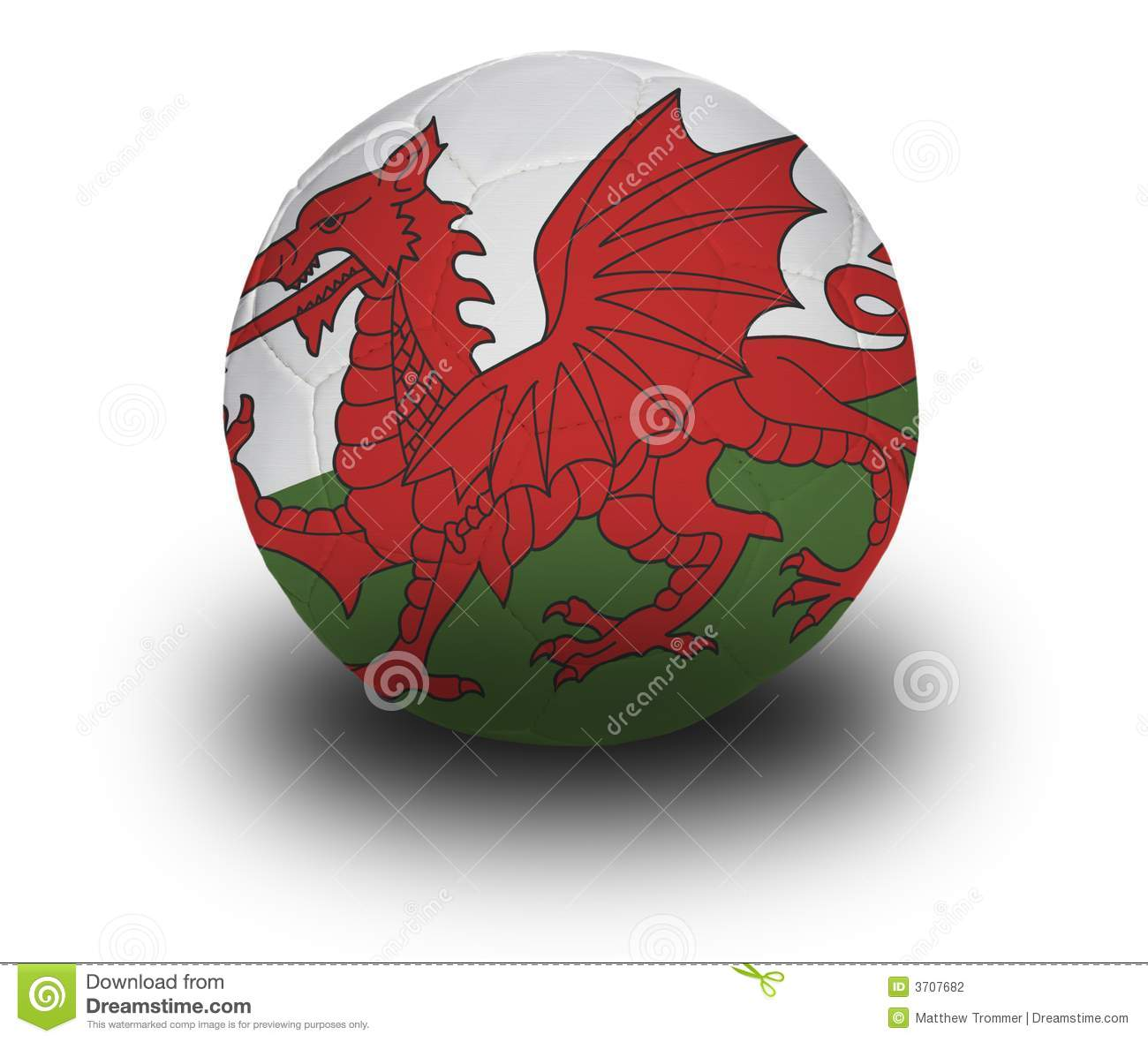 Round Flag Wales Stock Photos - Royalty Free Images