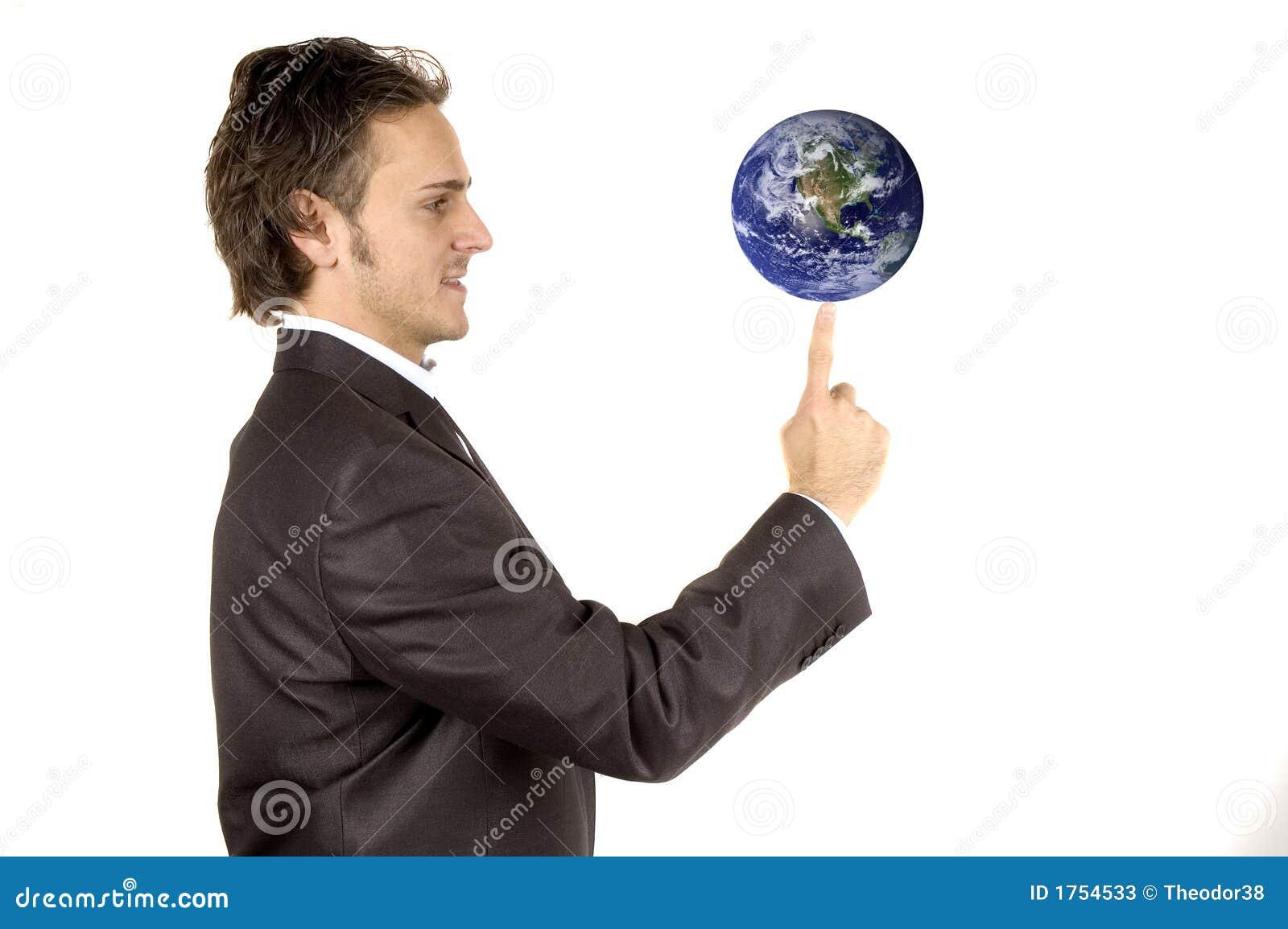 Welt zur Hand