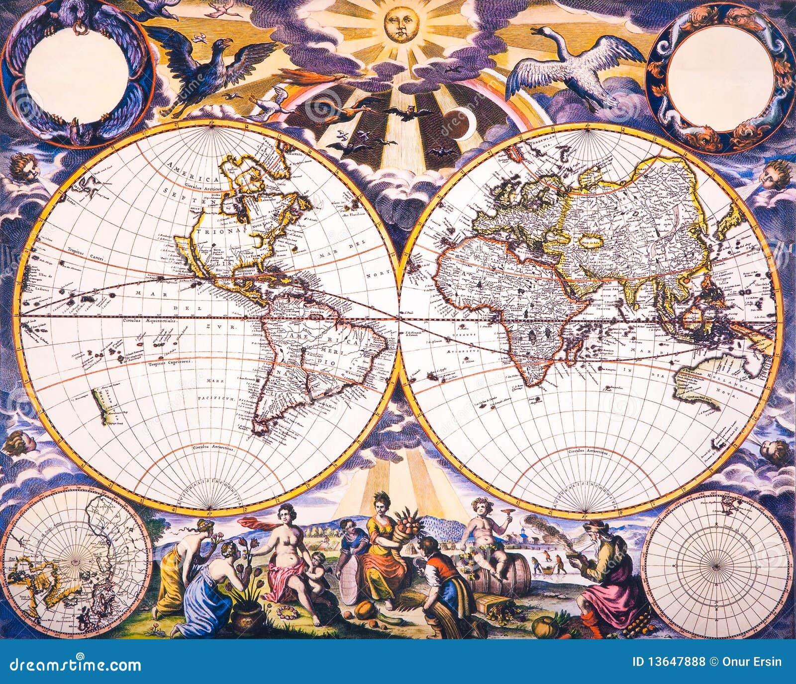 Weltantike Karte