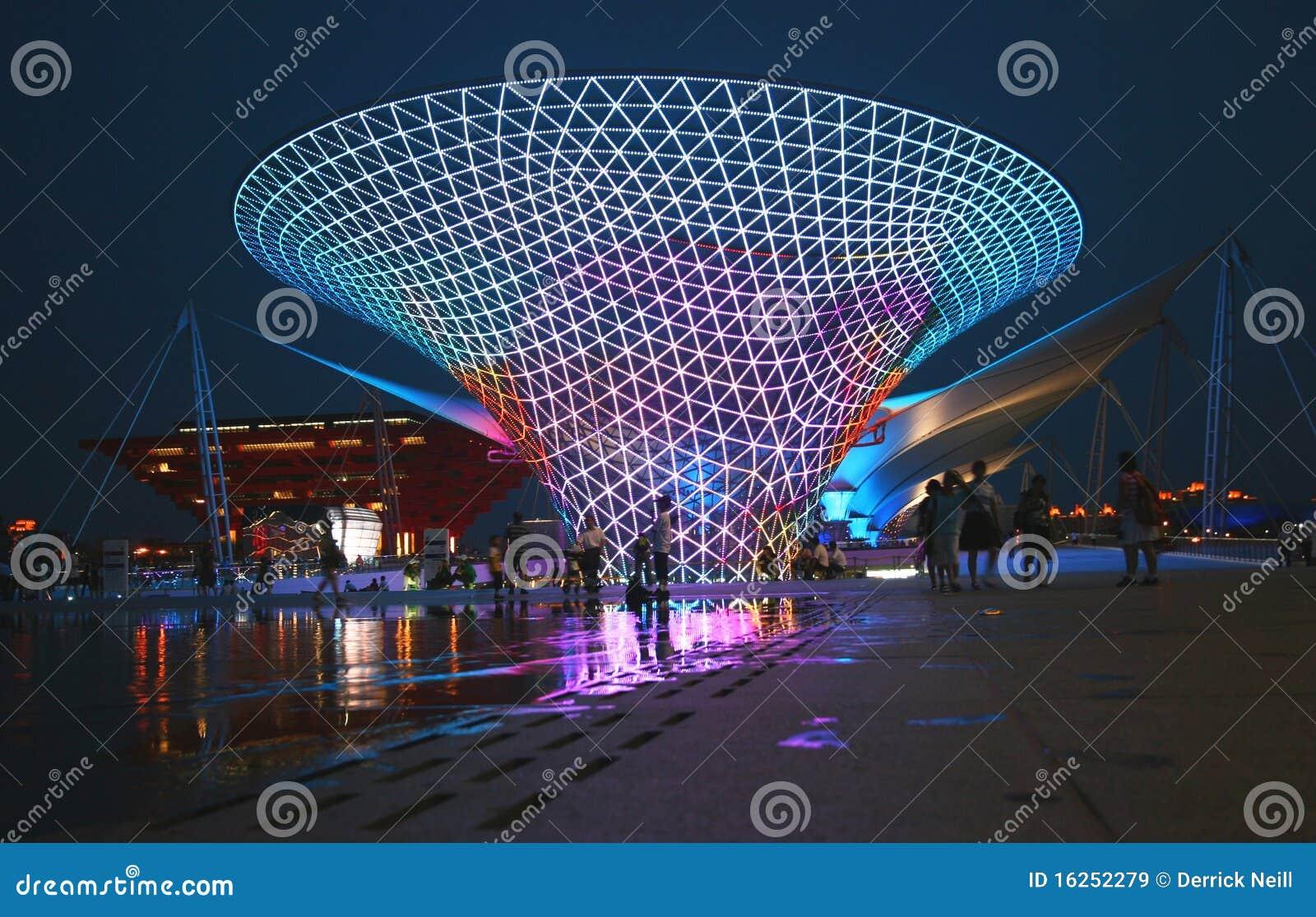 Weltausstellungs-Shanghai-Mittellinie 2010