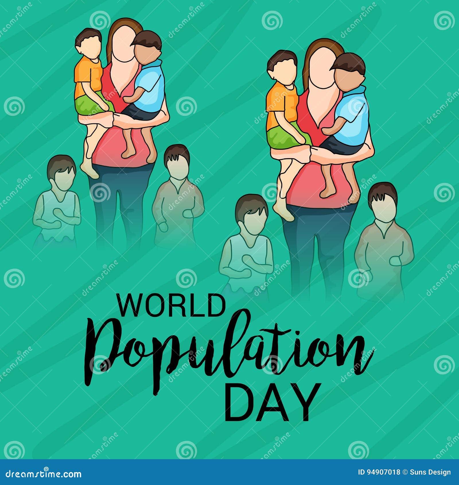 Weltbevölkerung Tag