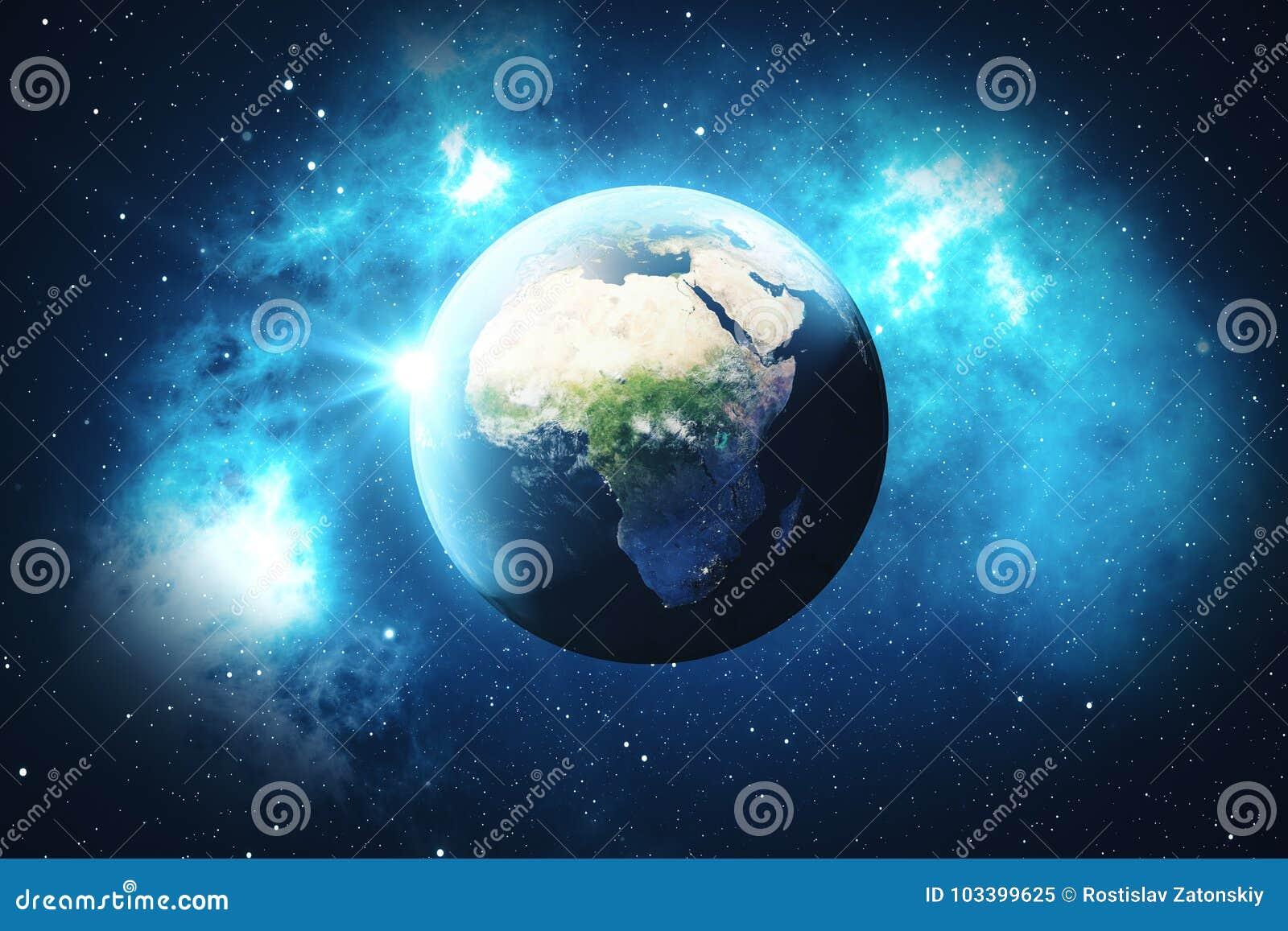 Verzauberkunst Weltkugel 3d Ideen Von Pattern Der Wiedergabe-3d Erdkugel Mit Hintergrund-sternen Und