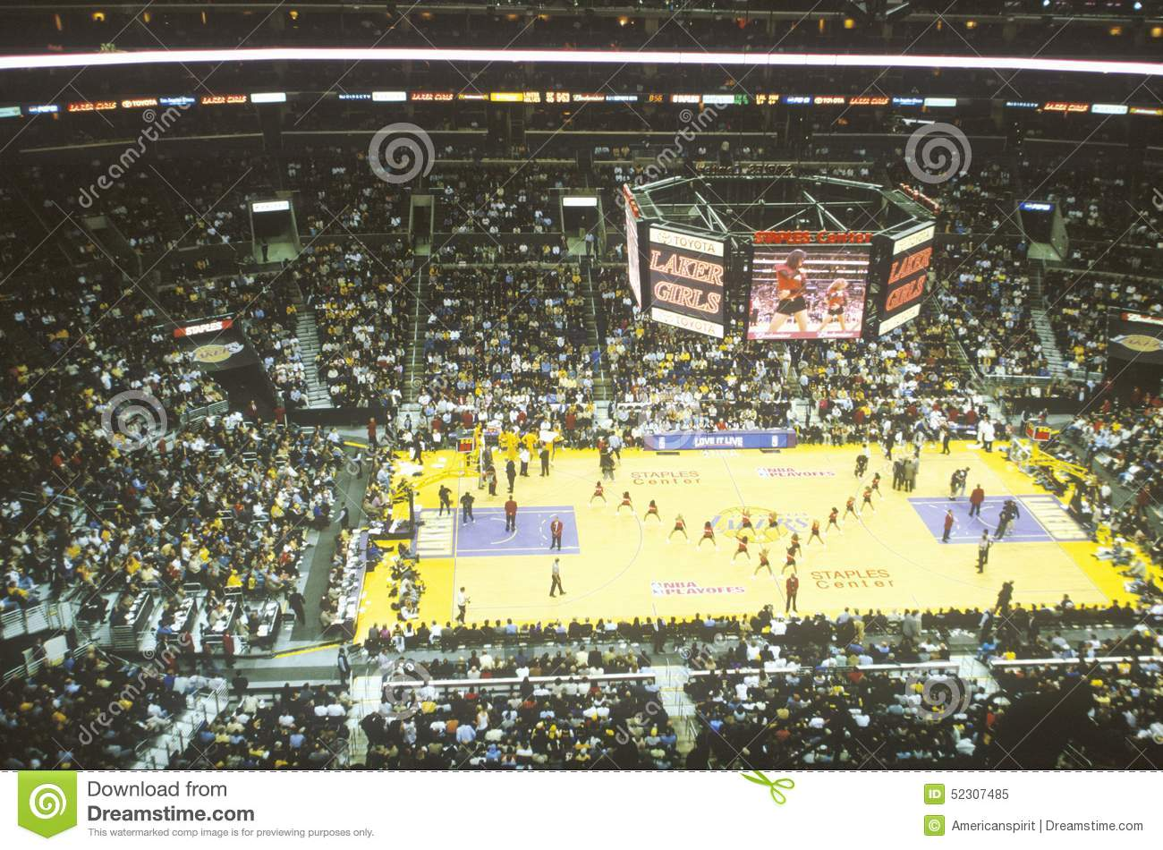 Weltmeisterschaft Los Angeles Lakers, NBA-Basketballspiel, Staples Center, Los Angeles, CA