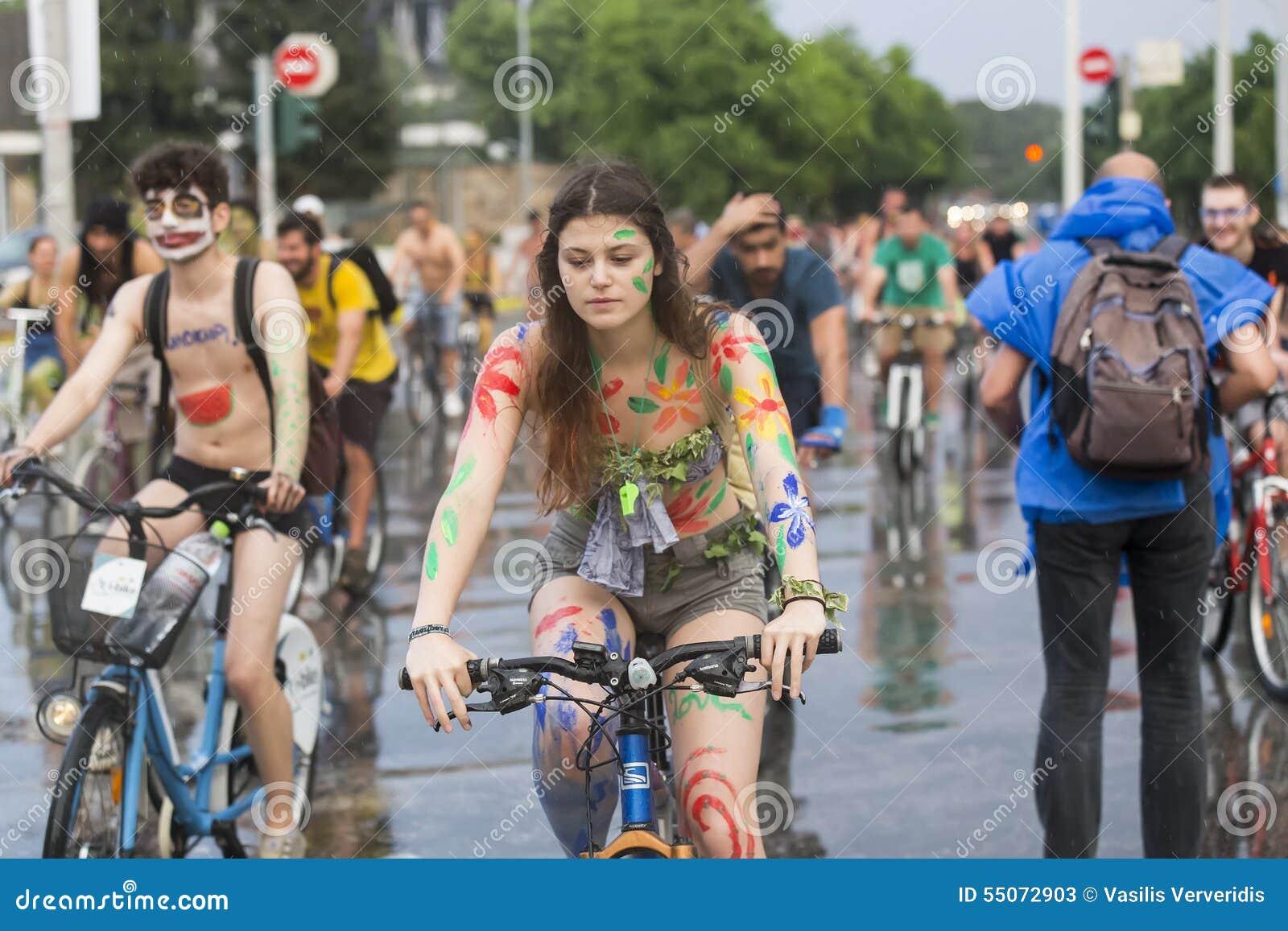 World Naked Bike Ride Los Angeles 2015 (NSFW slide show)
