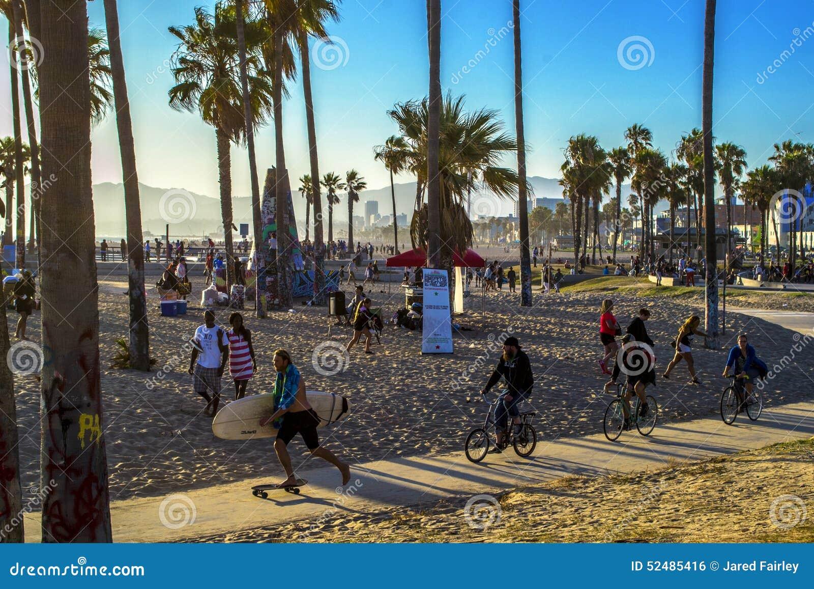 Wenecja plaży BoardWalk