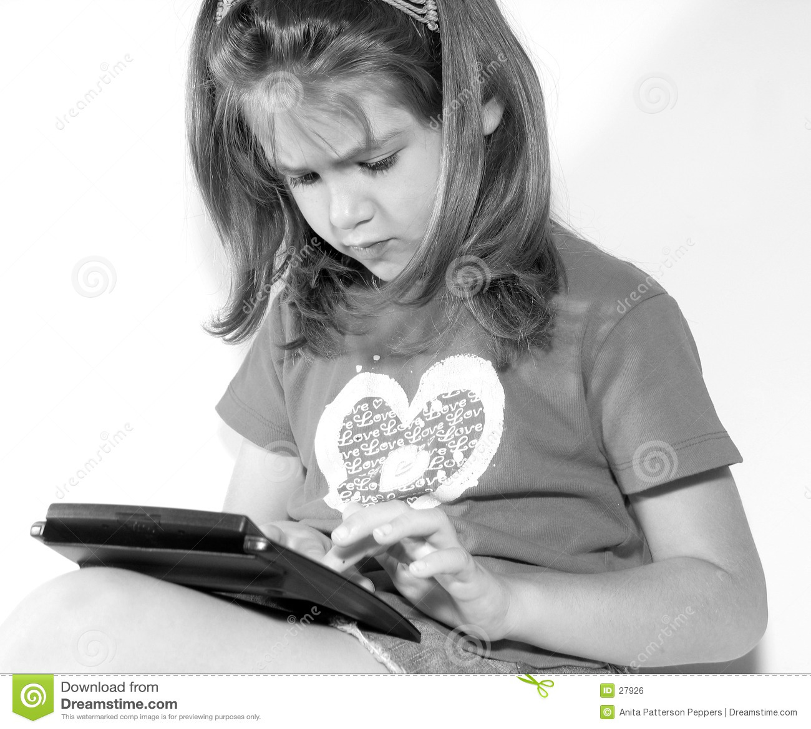 Download Wenig Geschäftsfrau stockfoto. Bild von abbildungen, learn - 27926