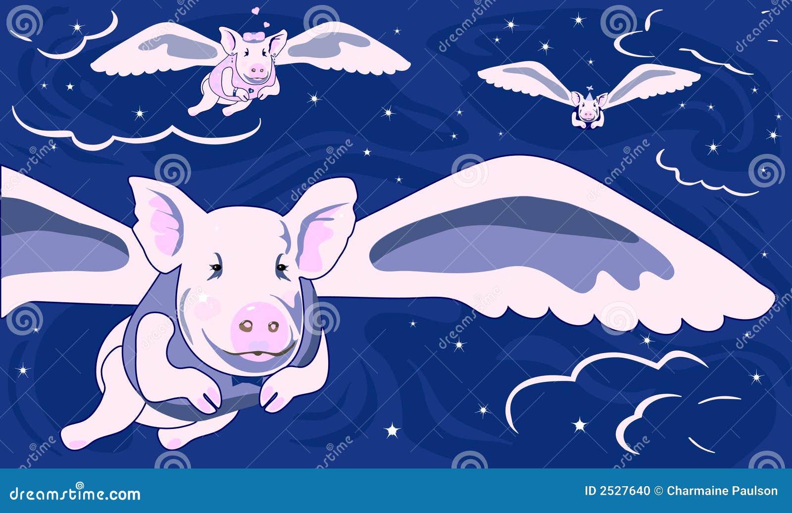 Wenn Schweine fliegen