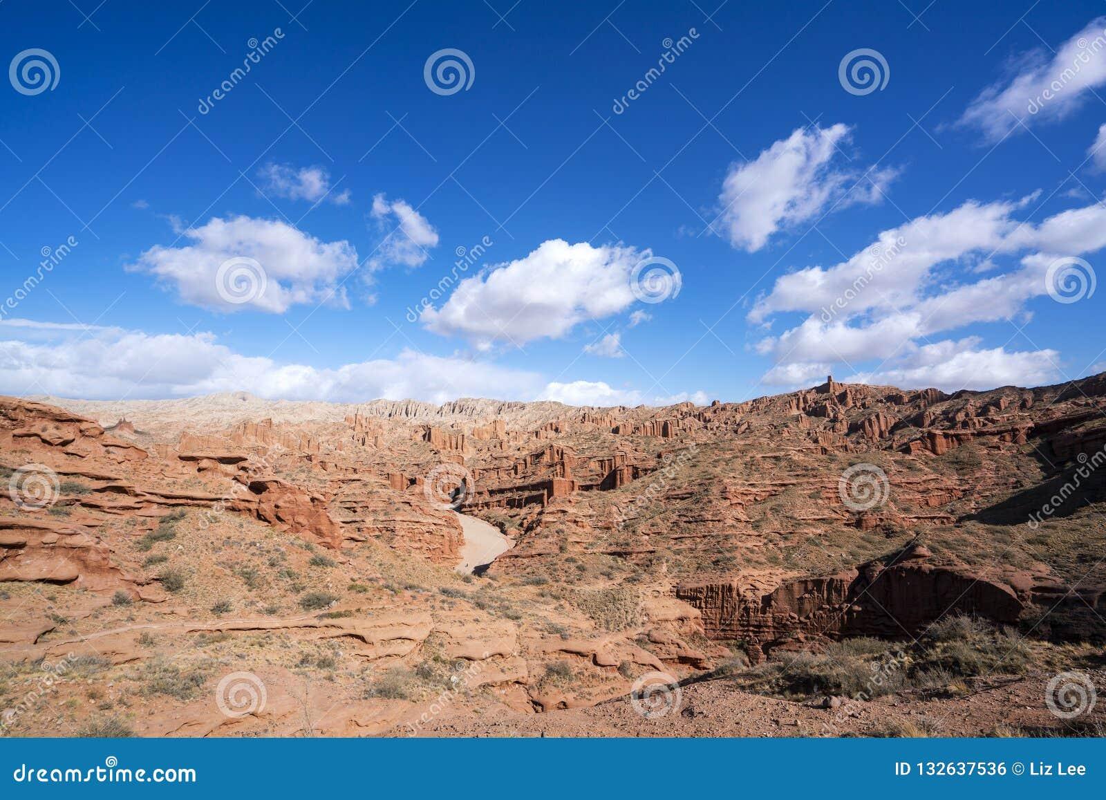 Wensu Grand Canyon in Autumn