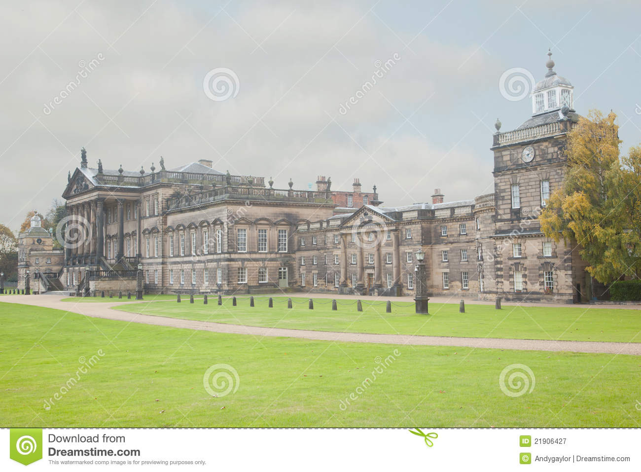 Wentworth Hall Royalty Free Stock Photography Image