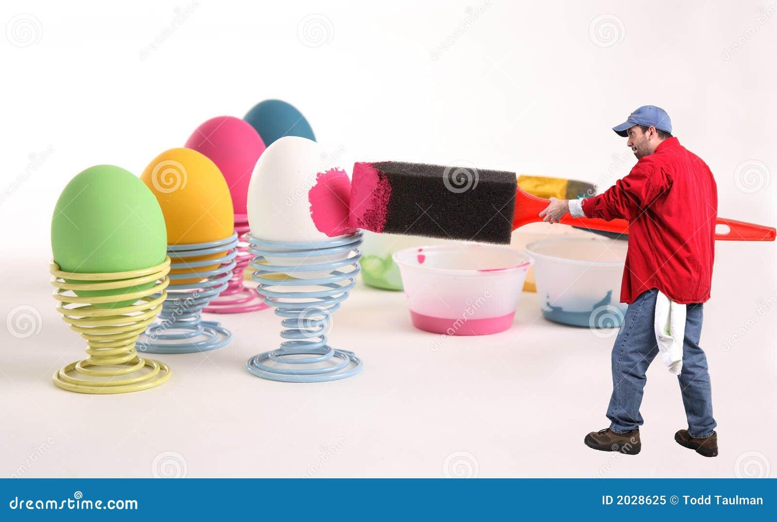 Werden fertig zu Ostern
