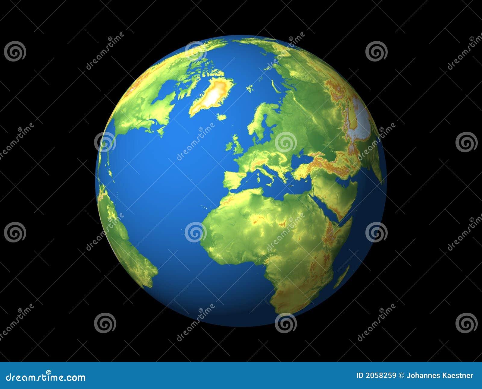 Wereld europa royalty vrije stock afbeeldingen afbeelding 2058259 - Vloerlamp van de wereld ...