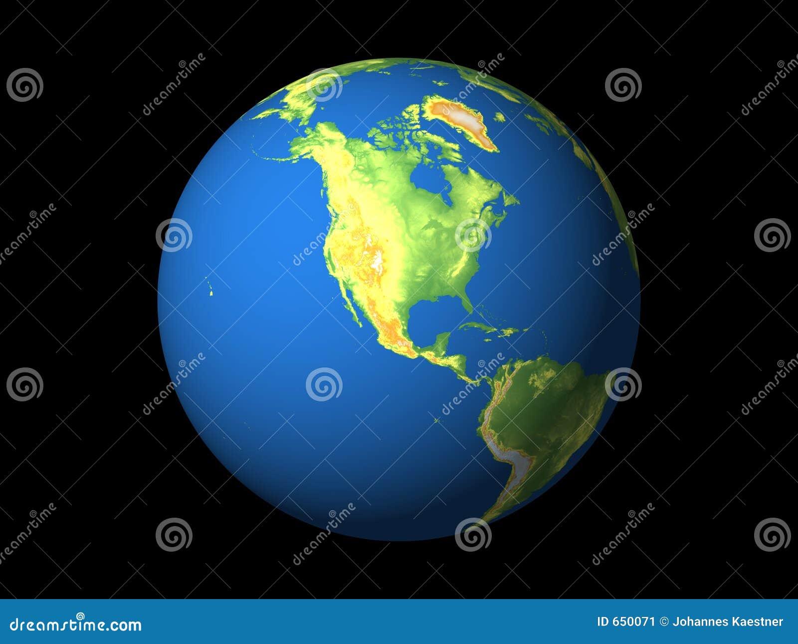 Wereld, Noord-Amerika