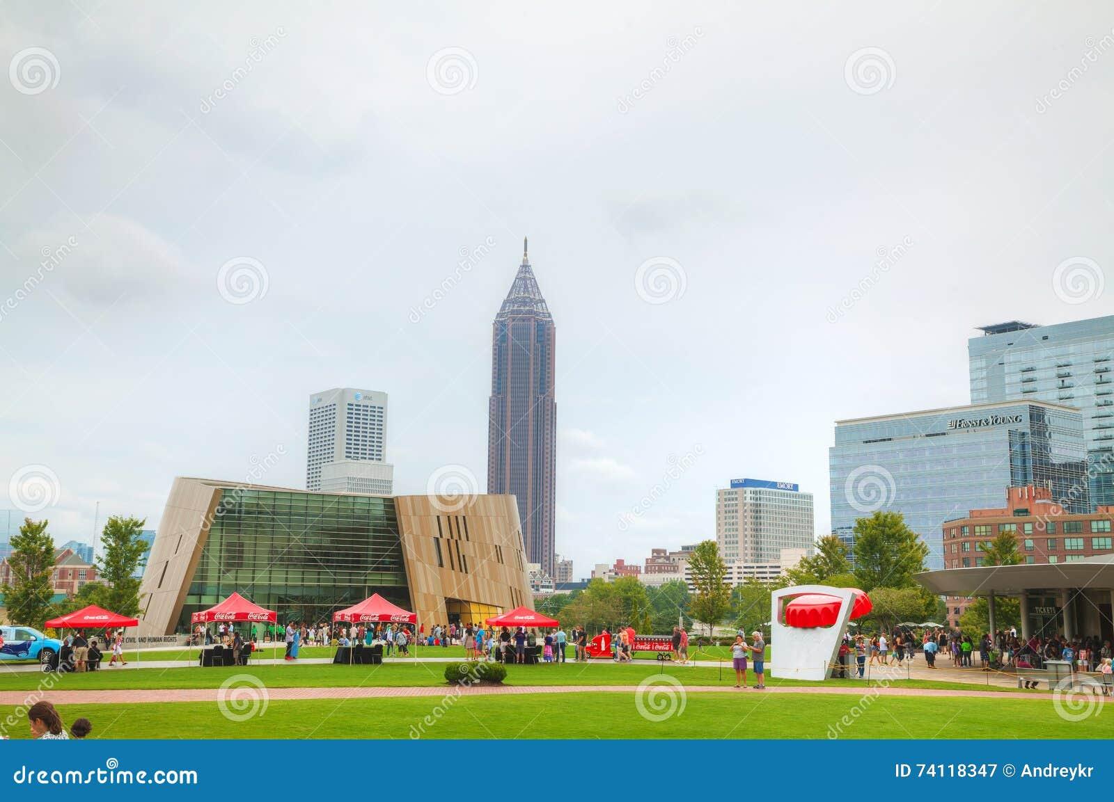 Wereld van Coca-Cola in Honderdjarig Olympisch park