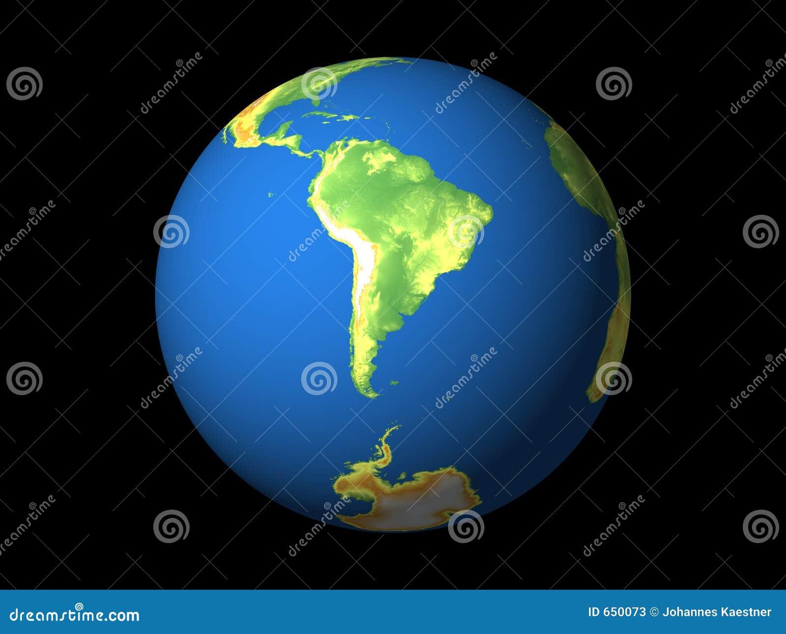 Wereld, Zuid-Amerika