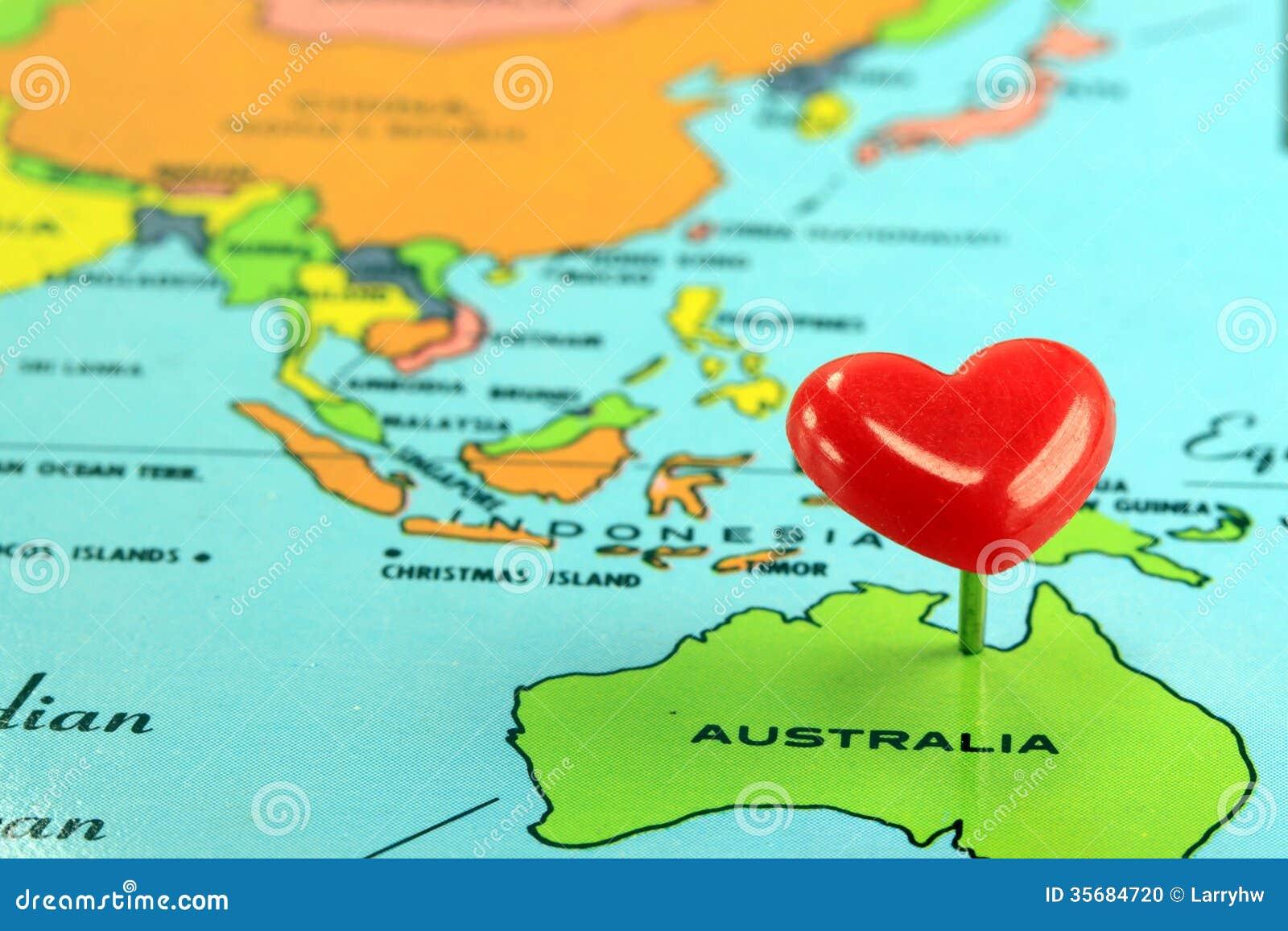 stereotype map of australia